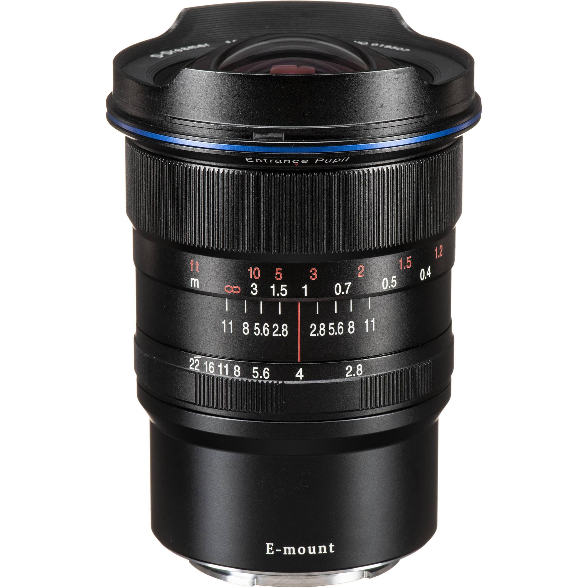 Venus Optics Laowa 12mm F 2 8 Zero D Lens For Sony E Ve1228sef