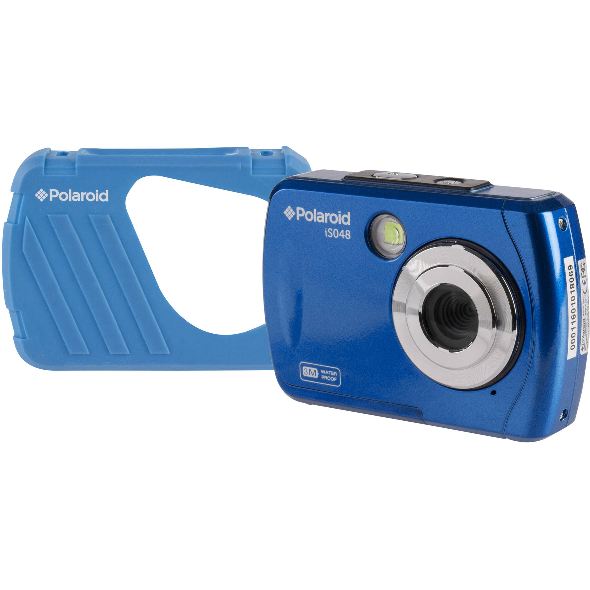 polaroid is048 digital camera  blue  is048 blue b h photo video Pink Beats Pro Sony Memory Stick Pro