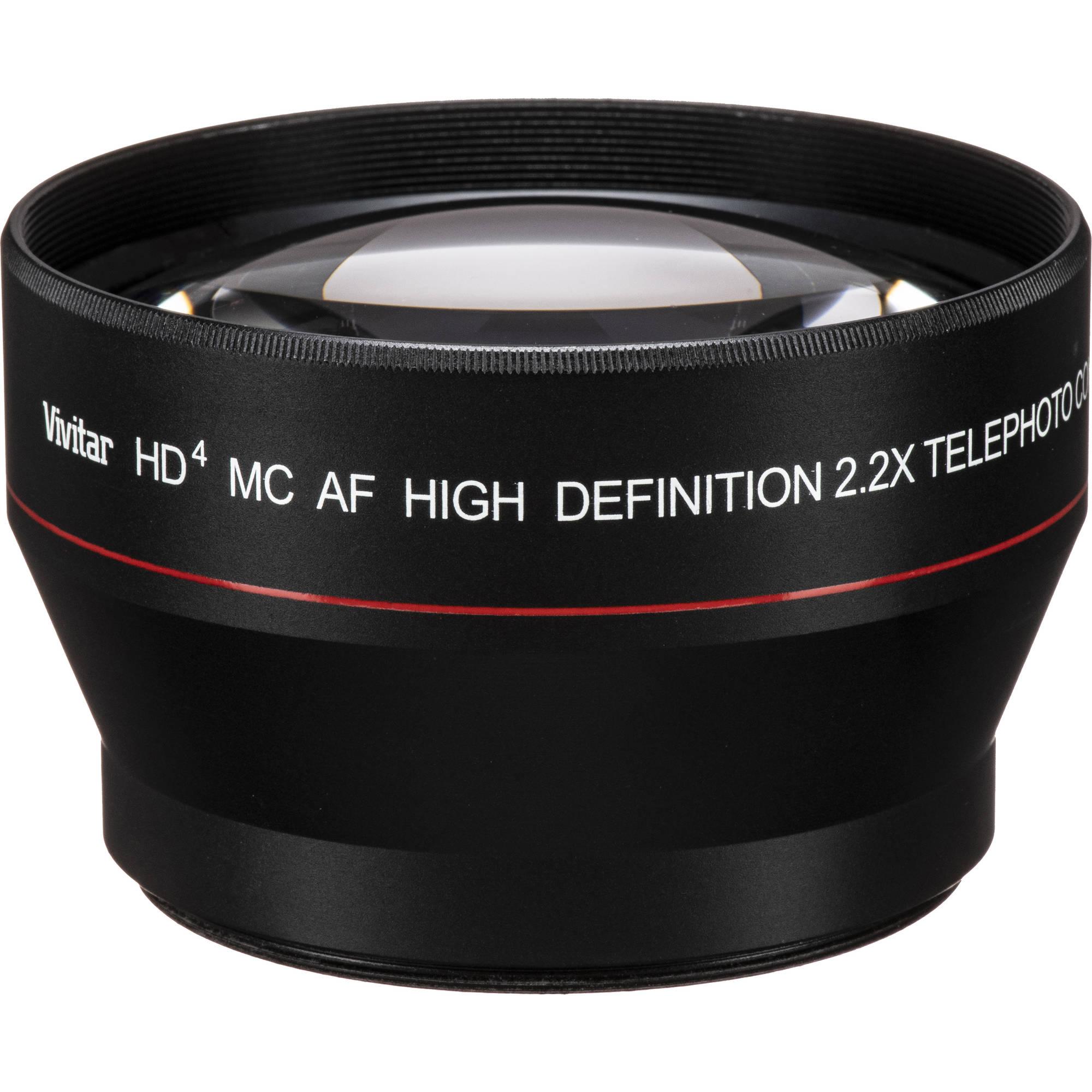 Vivitar 67mm 22x Telephoto Attachment Lens Viv 67t Bh Photo