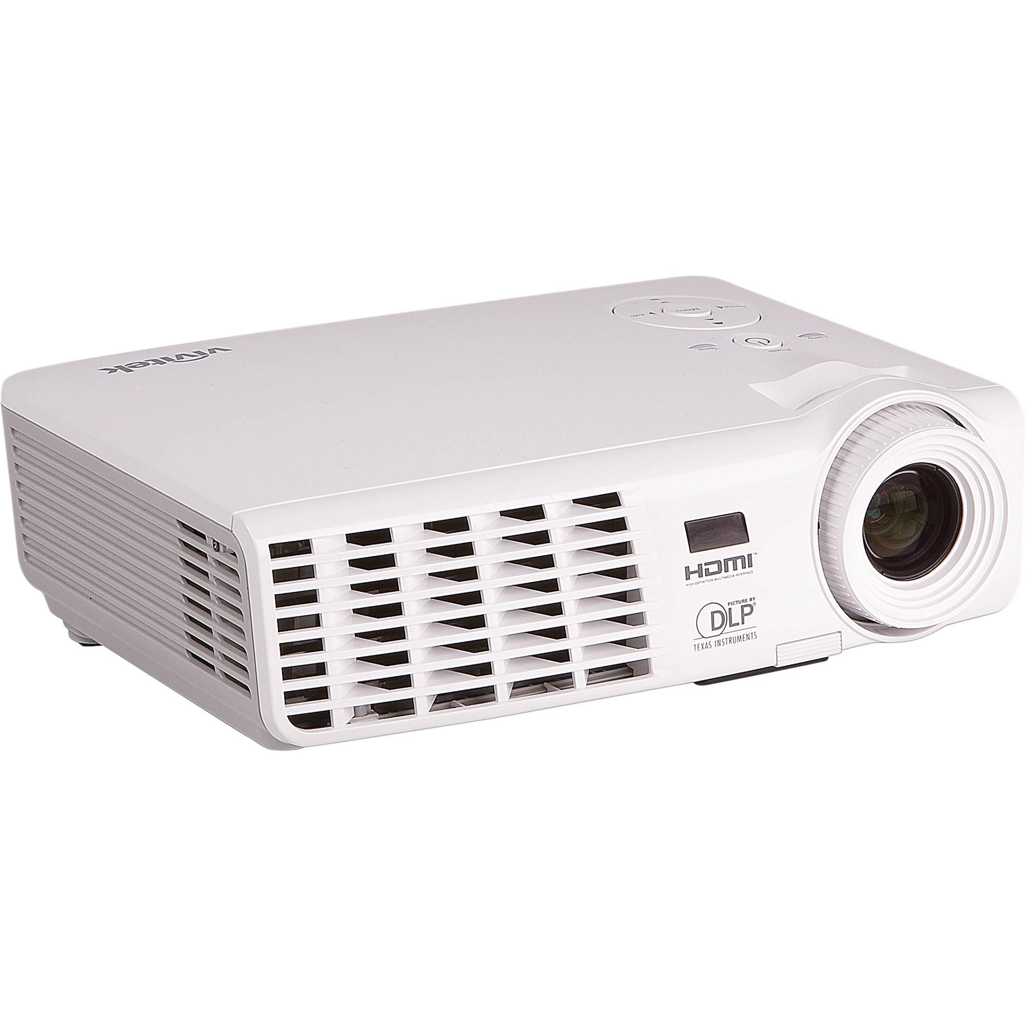 Vivitek d518 3d multimedia mobile projector d518 b h photo for Mobile projector