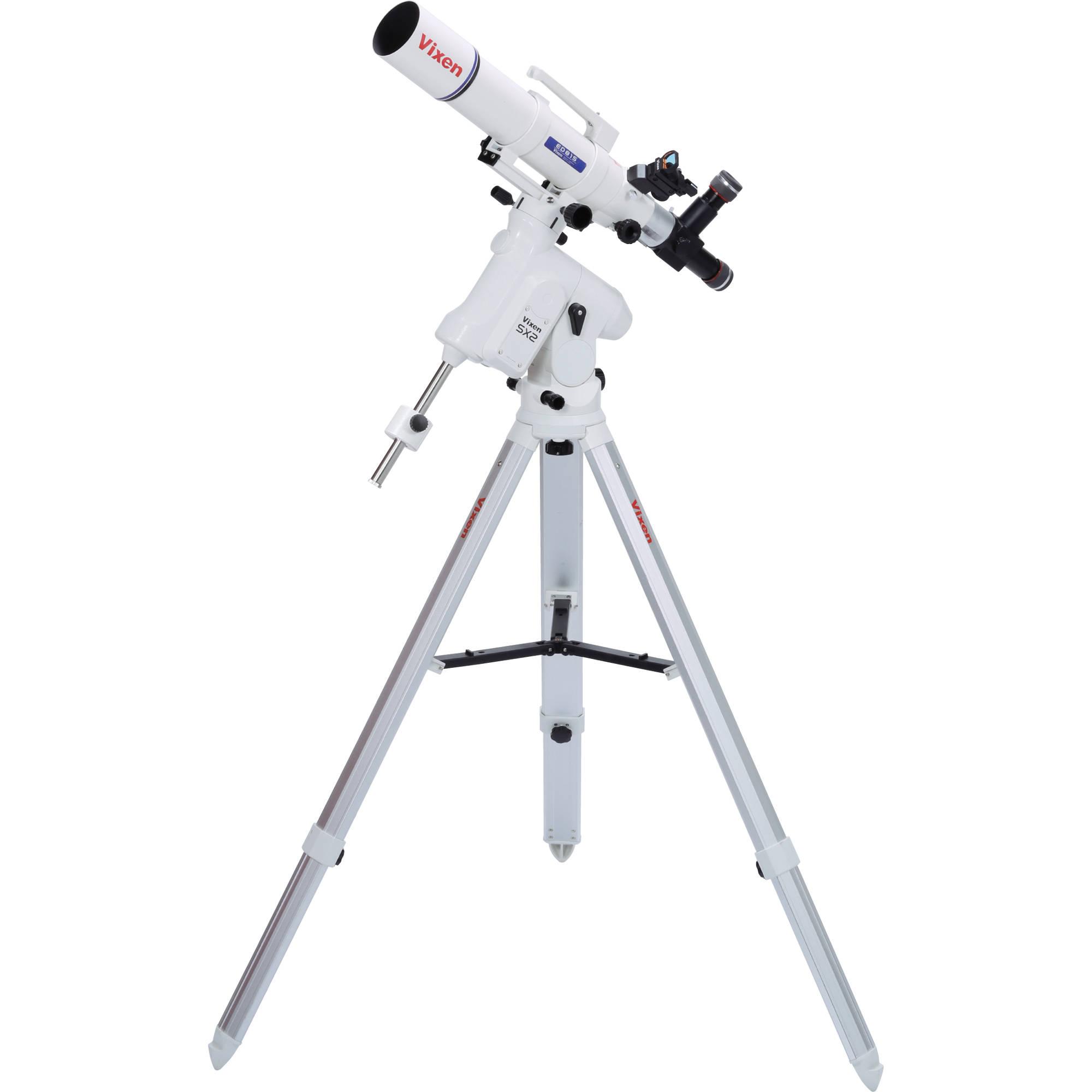 Vixen Optics Ed81s Refractor Telescope With Sx2 Eq 25074ds B Amp H