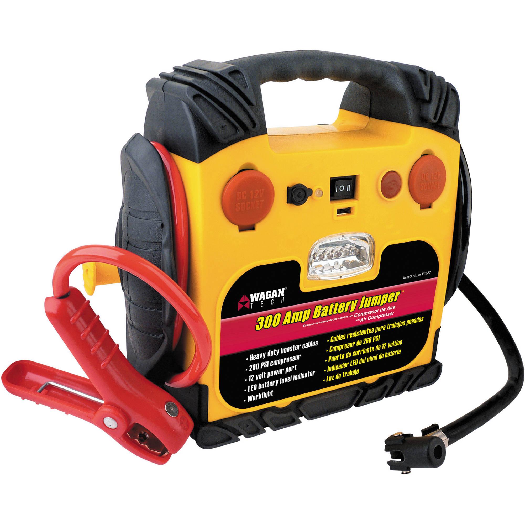WAGAN 300 AMP Battery Jumper/Portable Power Station 2467 B&H
