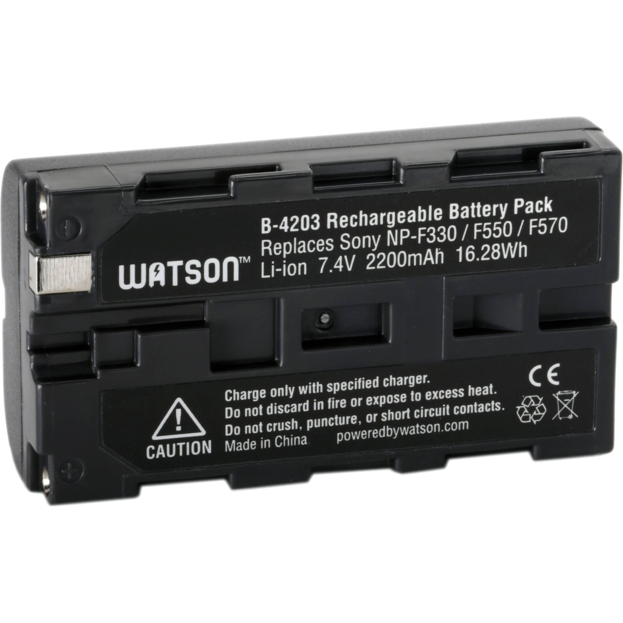 Lithium Ion Battery Pack Watson NP-F550 ...