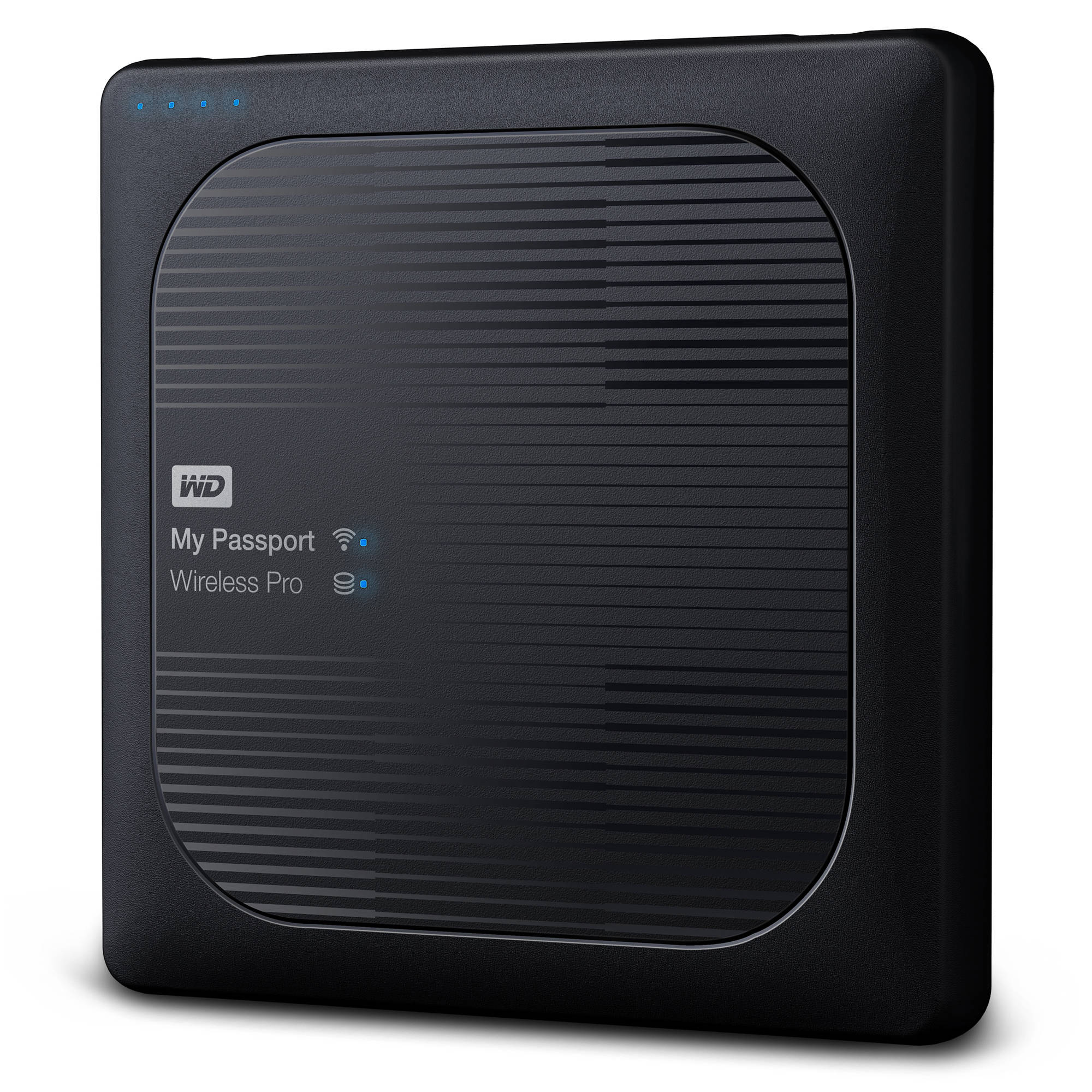 Wd 3tb my passport wireless pro usb 3 0 wdbsmt0030bbk nesn b h for 3tb esterno