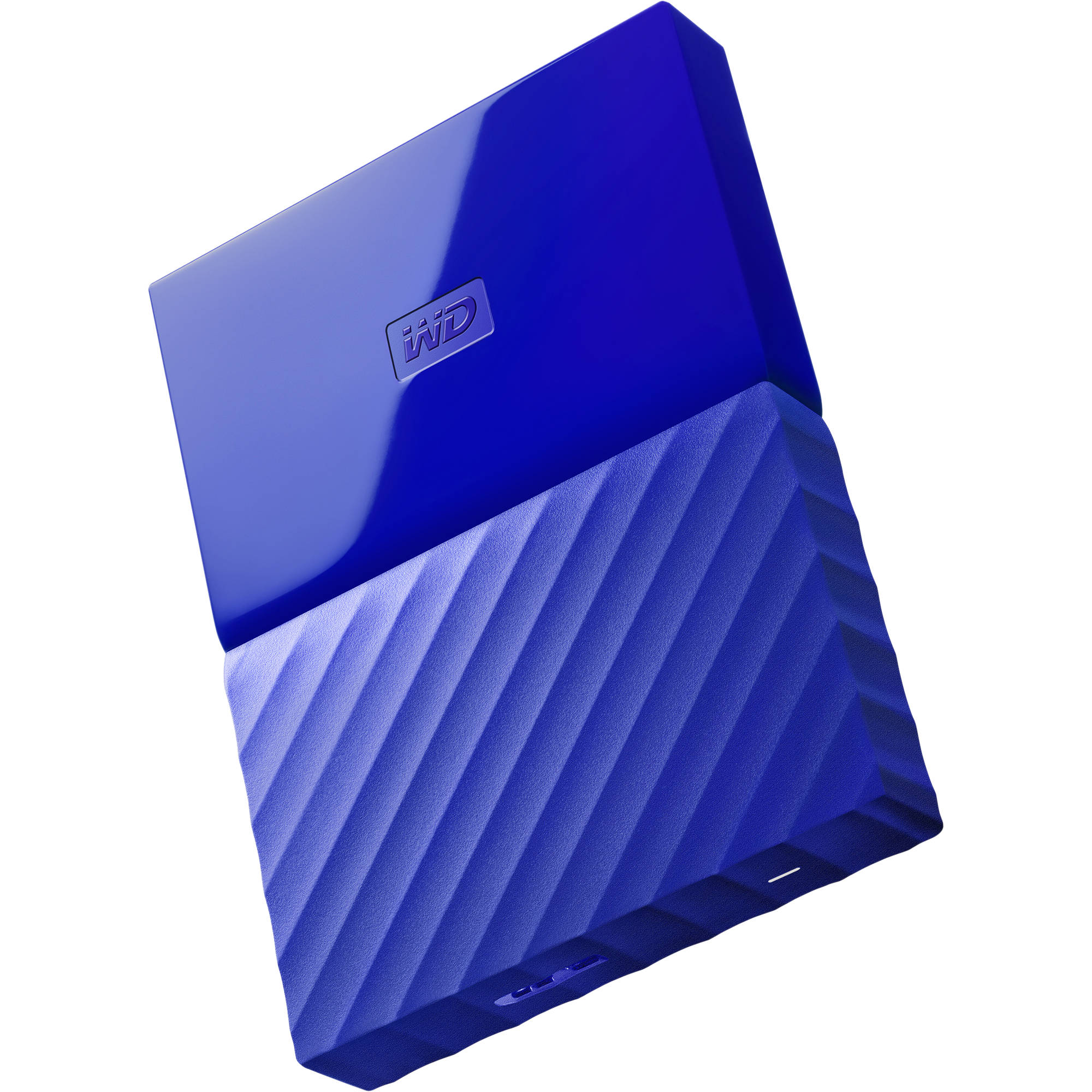 Wd 1tb My Passport Usb 3 0 Secure Portable Wdbynn0010bbl Wesn