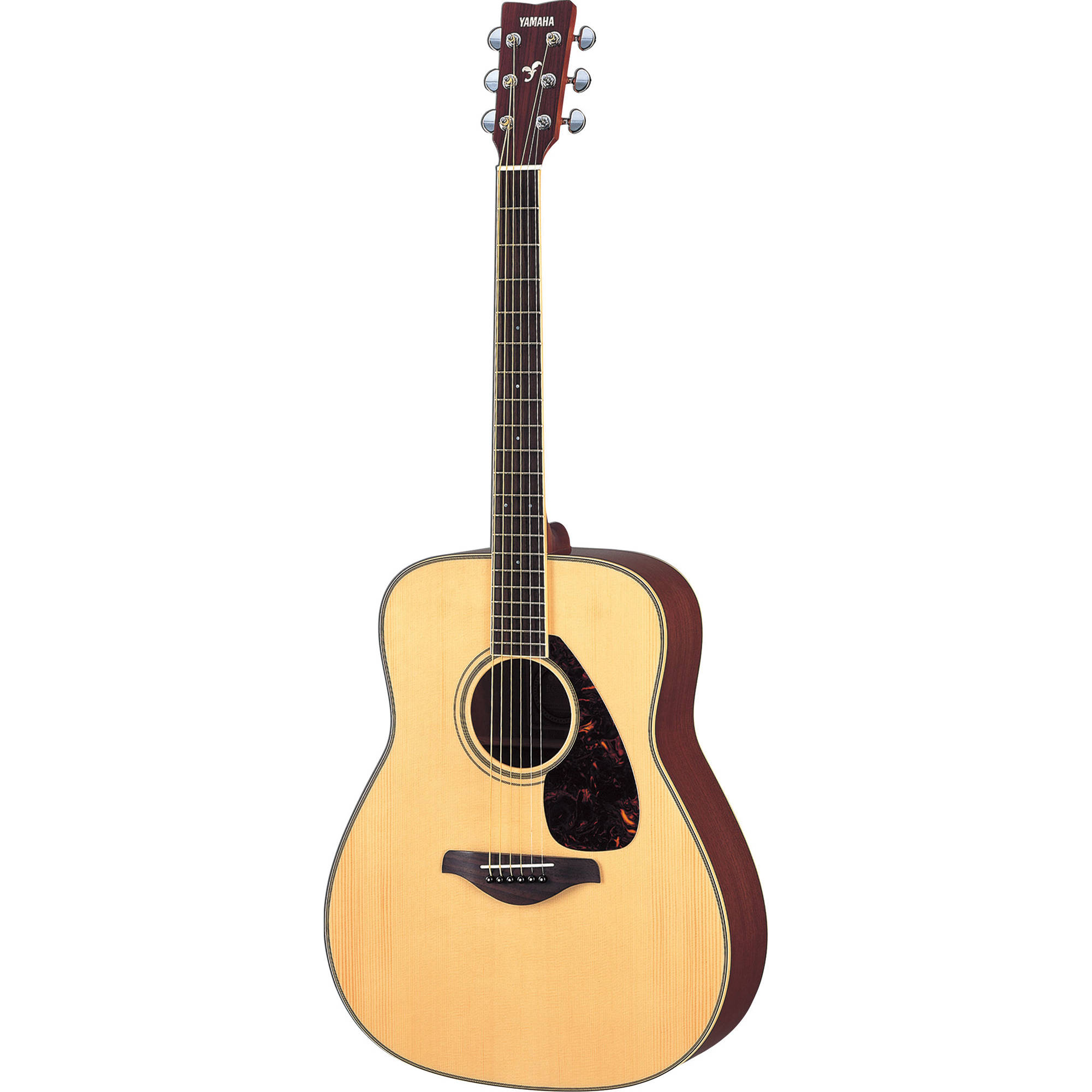 Yamaha fg720s solid top acoustic guitar natural fg720s b h for Where are yamaha guitars made