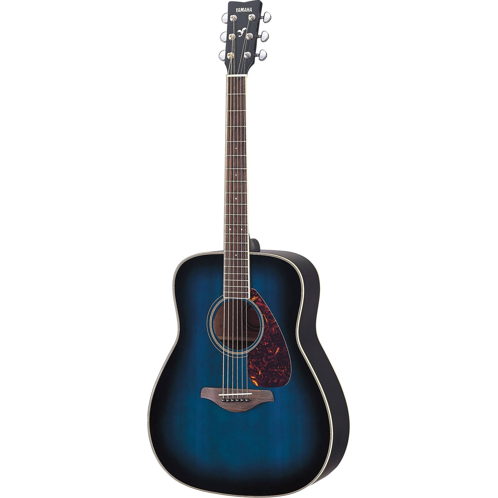 Yamaha FG720S Solid-Top Acoustic Guitar FG720S OBB B&H Photo