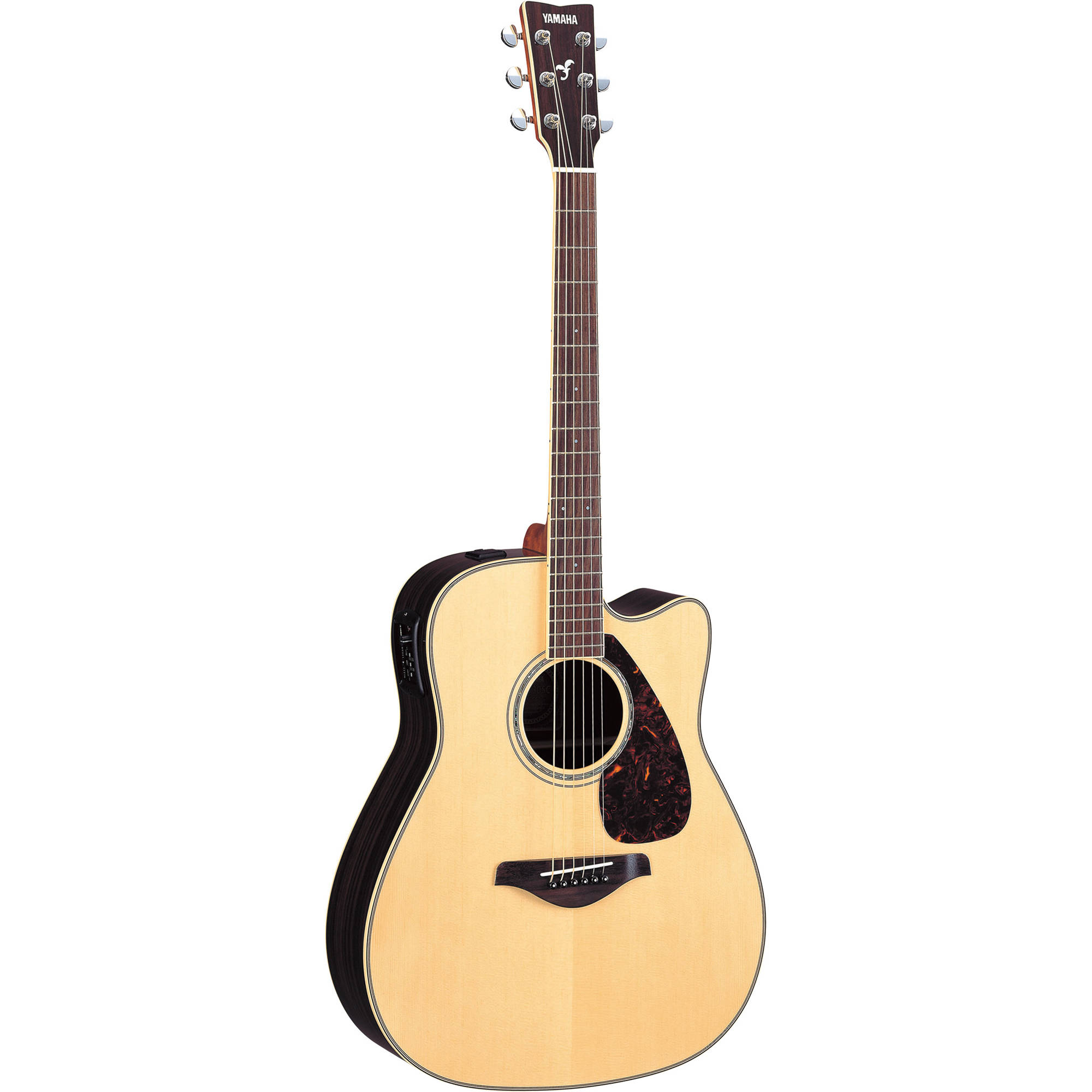 Yamaha Fgx730sc Acoustic Electric Solid Top Cutaway