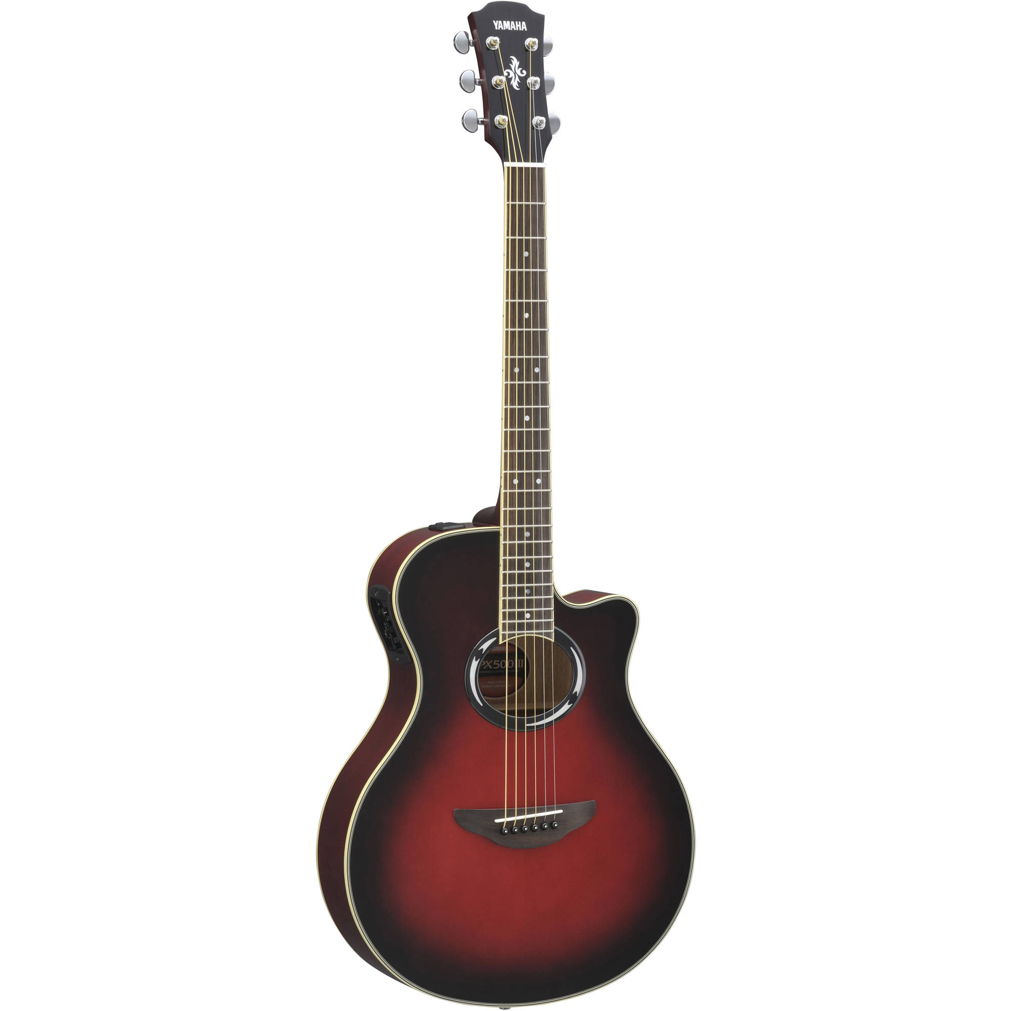 yamaha apx500iii thinline acoustic electric cutaway apx500iii. Black Bedroom Furniture Sets. Home Design Ideas