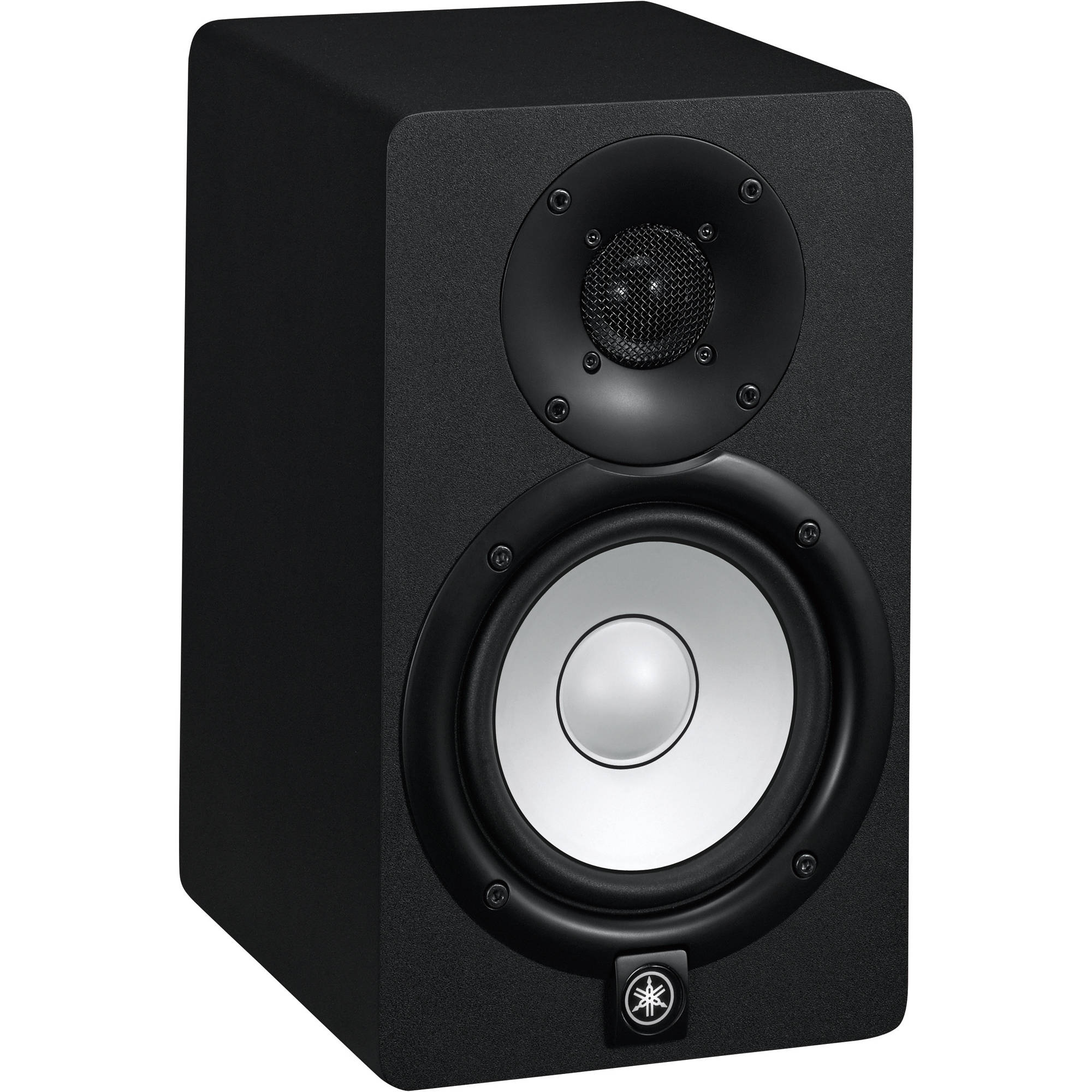 Yamaha hs5 powered studio monitor hs5 b h photo video for Yamaha powered monitor speakers