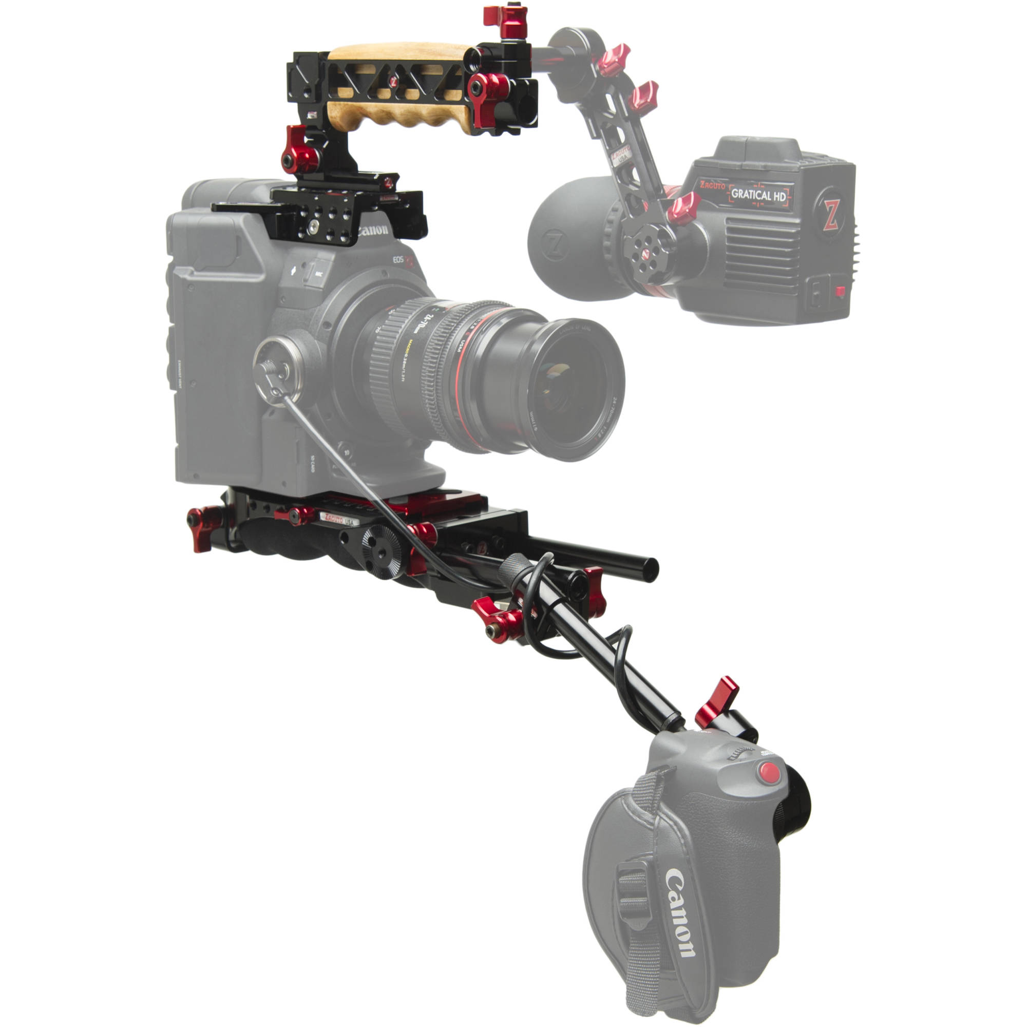 Https C Product 1389259 Reg Canon Eos 6d Kit 24 105mm F 40l Is Usm Wifi And Gps Zacuto Z C3002er V2 C300 Mark Ii Evf 1293738