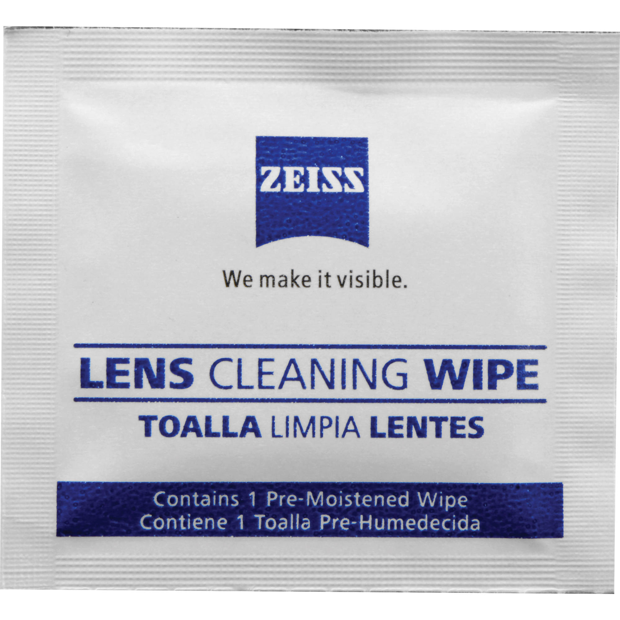 7dd6a0583ec ZEISS Lens Wipes (60-Pack) 000000-2127-721 B H Photo Video