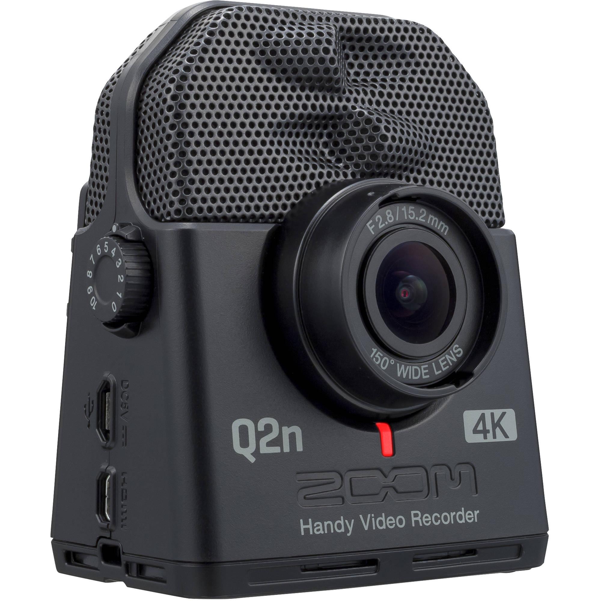 zoom q2n 4k handy video recorder zq2n4k b h photo video. Black Bedroom Furniture Sets. Home Design Ideas