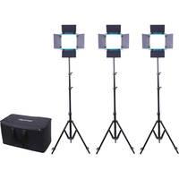 Dracast LED500 S-Series Daylight 3-Light Kit w/NP-F Battery