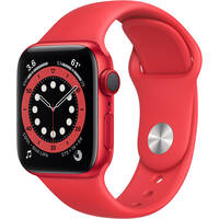 Deals on Apple Watch Series 6 GPS + Cellular 40mm RED Aluminum Case