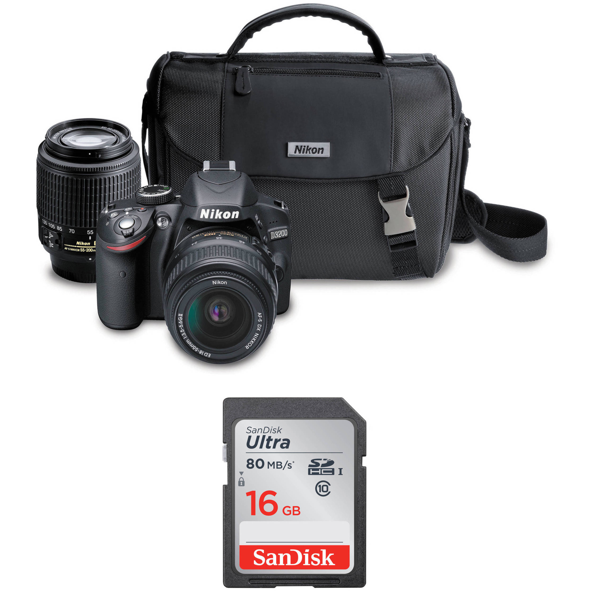 nikon d3200 review dslr camera with 1855mm and 55200mm