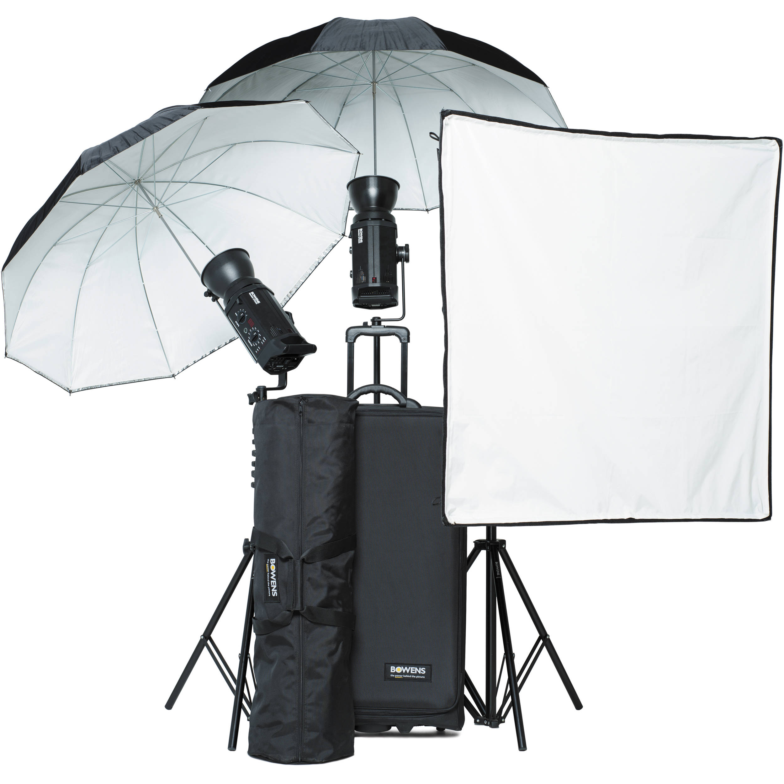 Bowens Esprit 500 Studio Lighting Kit: Bowens Gemini 500R PW 3-Light Kit BW-8515USP B&H Photo Video