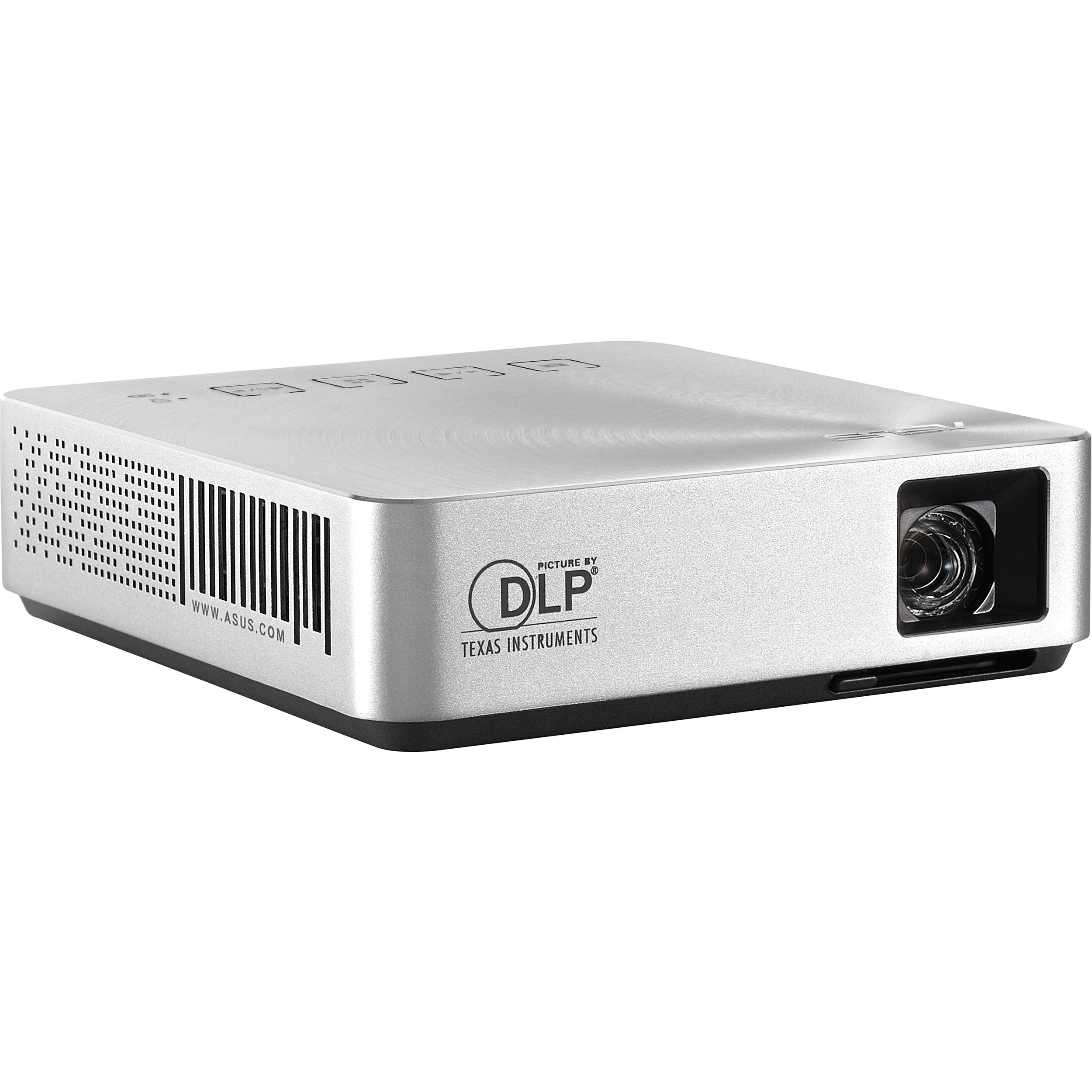 Asus s1 led pocket projector 90lj0060 b00140 b h photo video for Dlp pocket projector