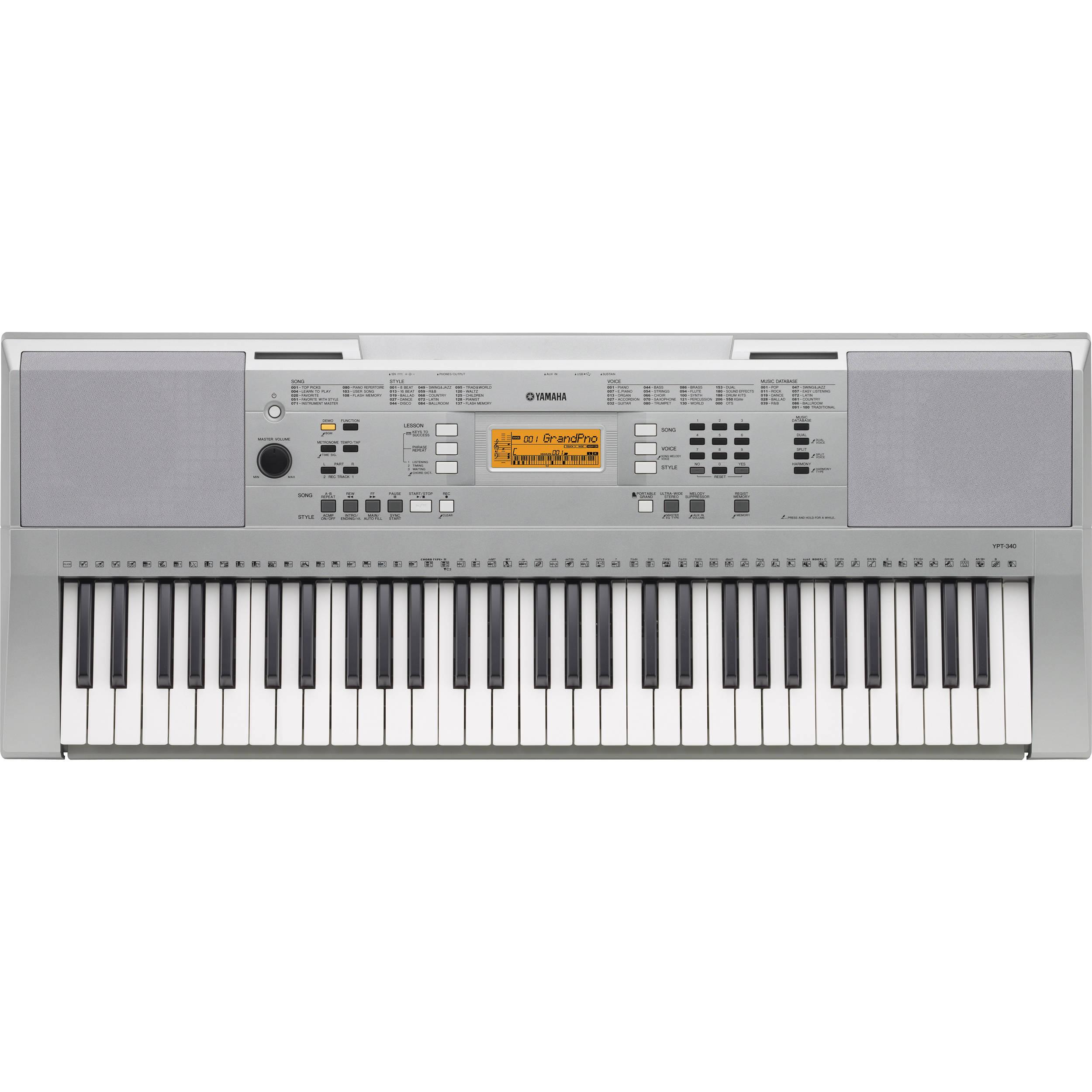 Yamaha Ypt  Key