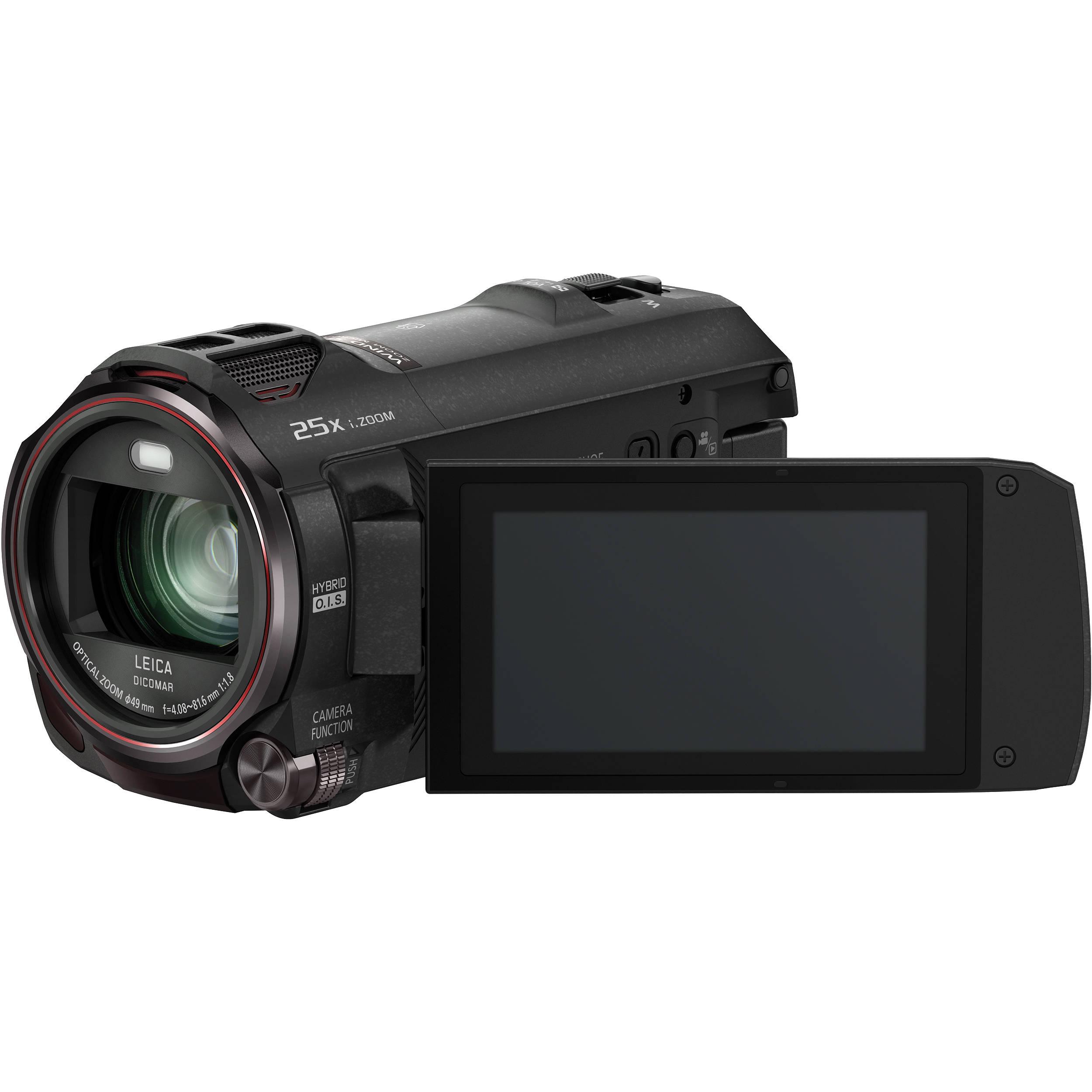 Panasonic HC-VX870 4K Ultra HD Camcorder HC-VX870K B&H Photo