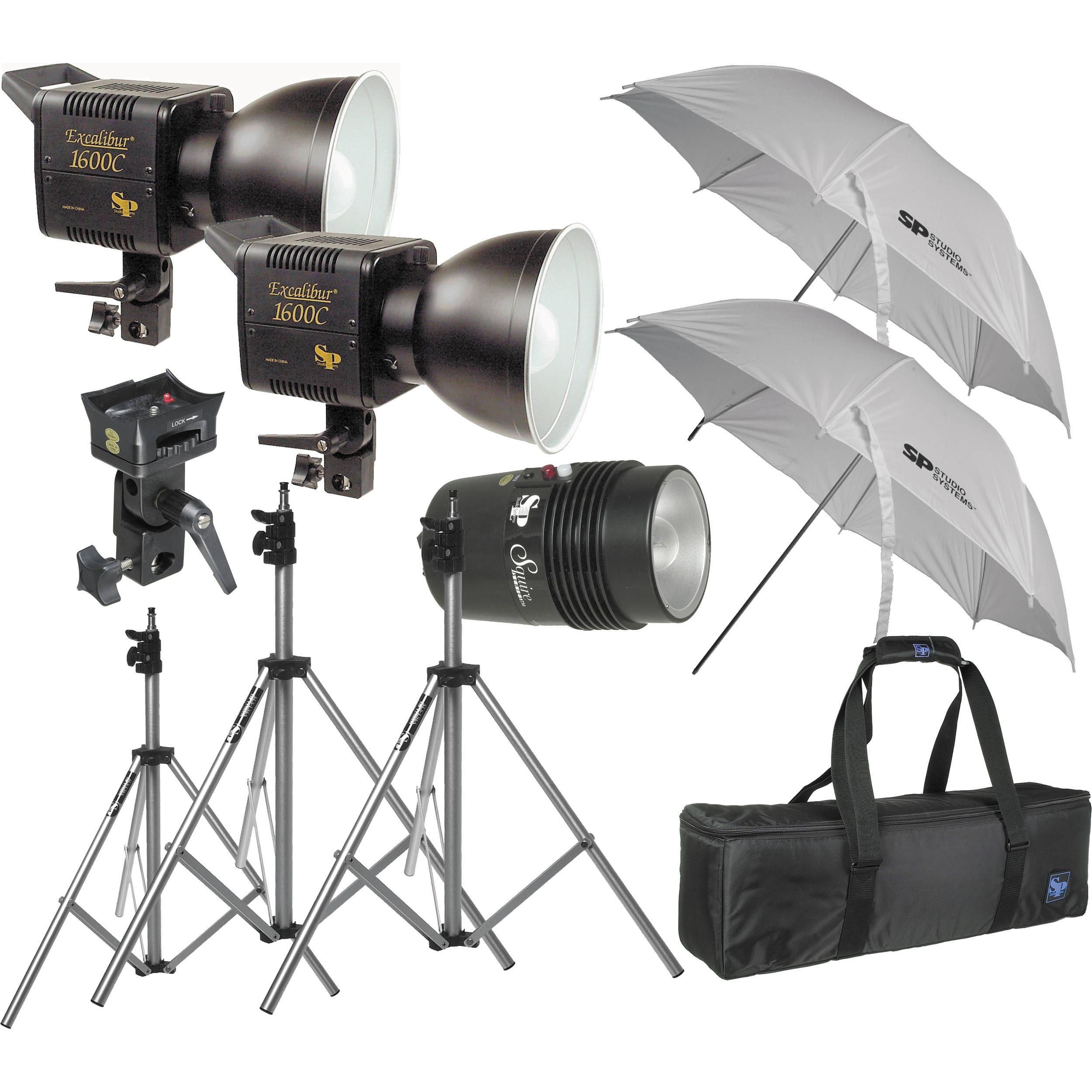 SP Studio Systems Excalibur Pro 1600 Lighting Kit