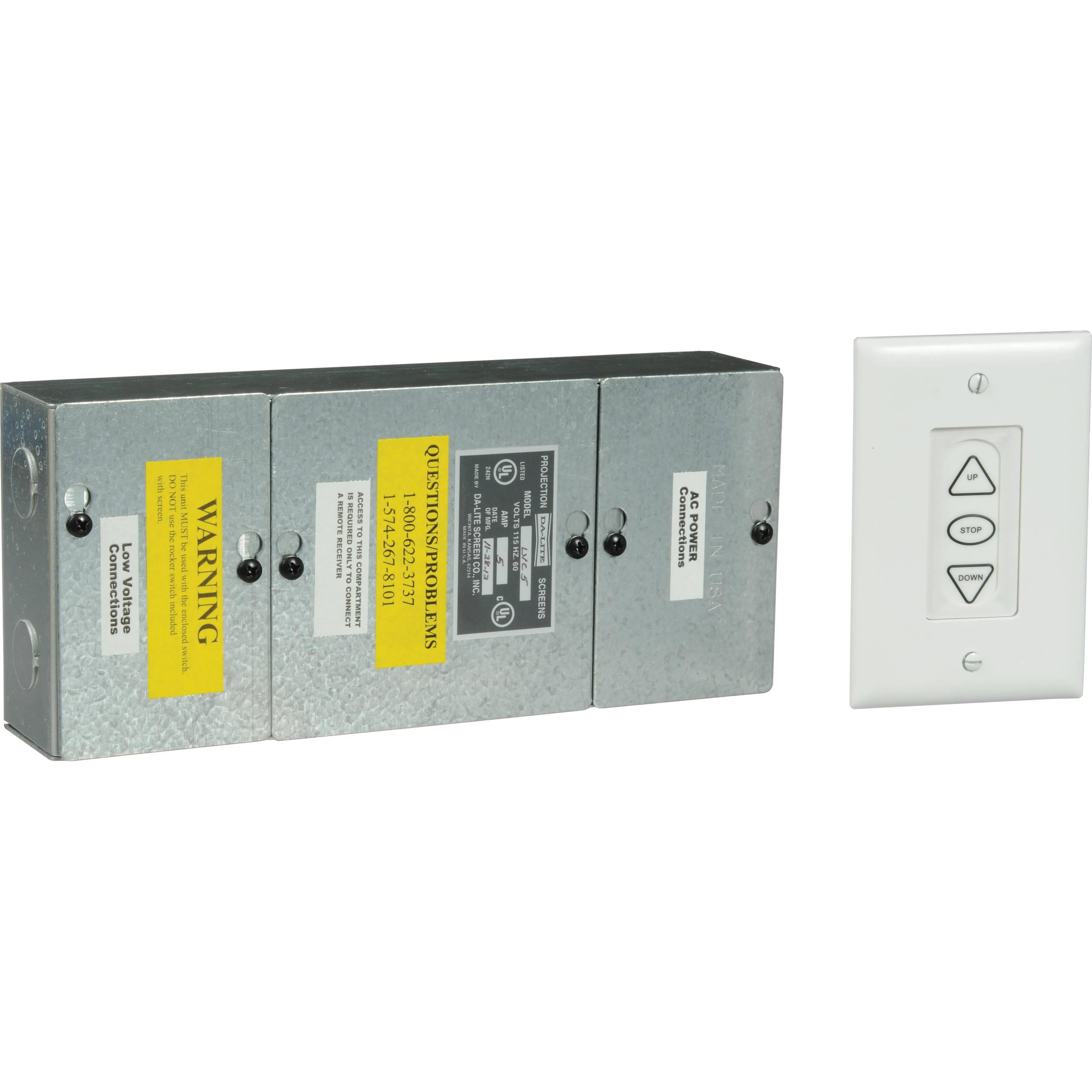 Da Lite Single Motor Low Voltage Control System 40973 B H