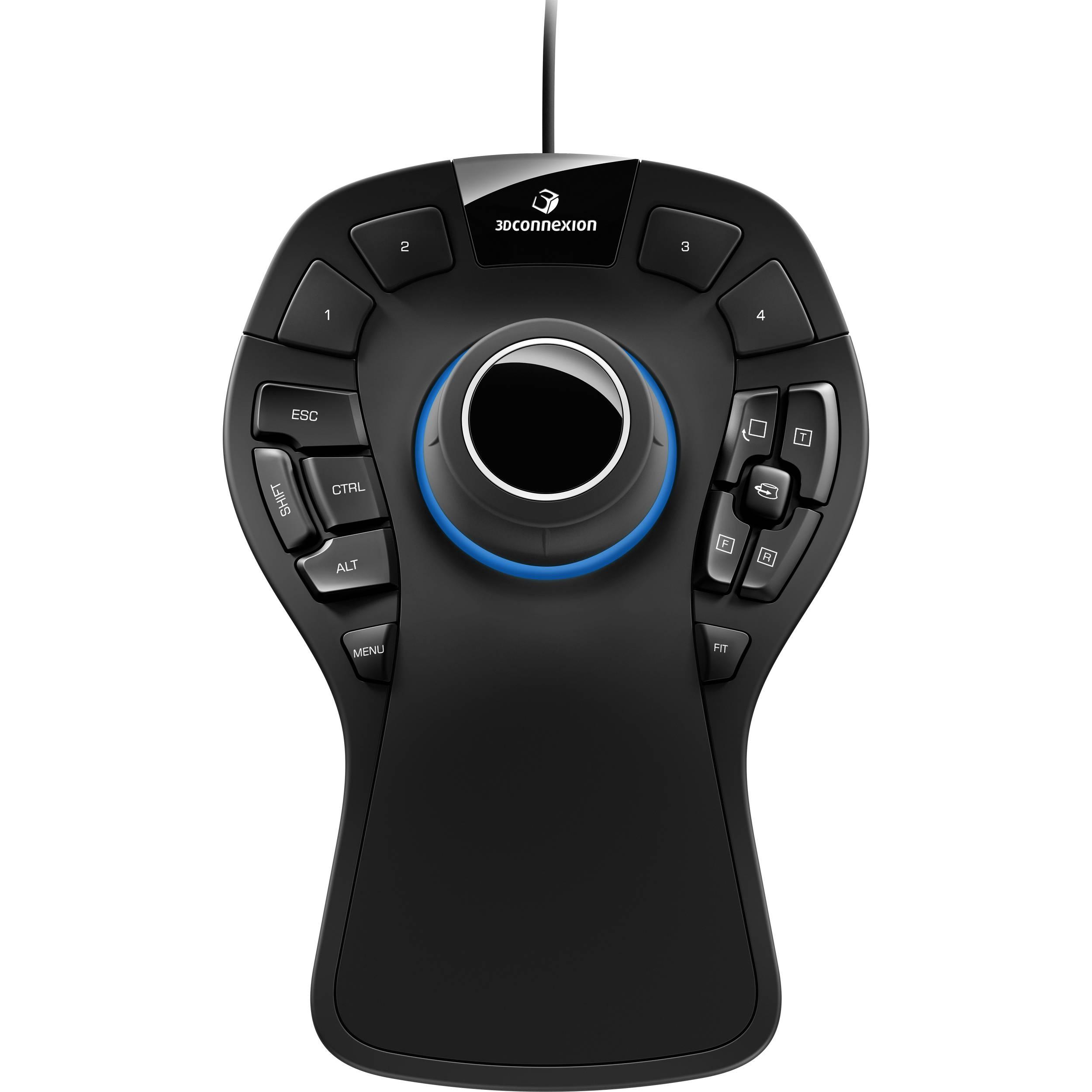 3Dconnexion SpaceMouse Pro 3D Mouse 3DX-700040 B&H Photo Video