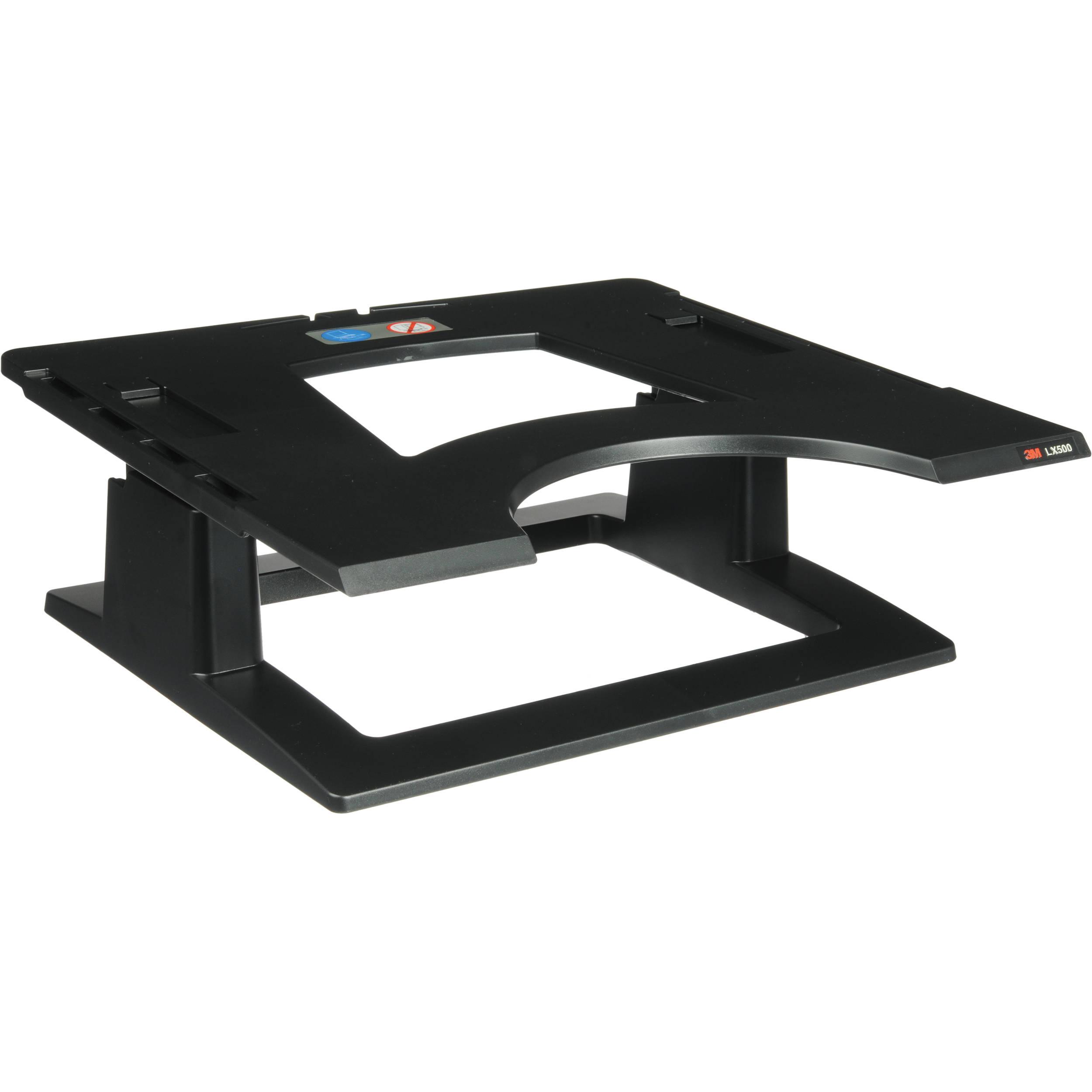3m Lx500 Adjustable Notebook Riser Black Lx500 B Amp H Photo