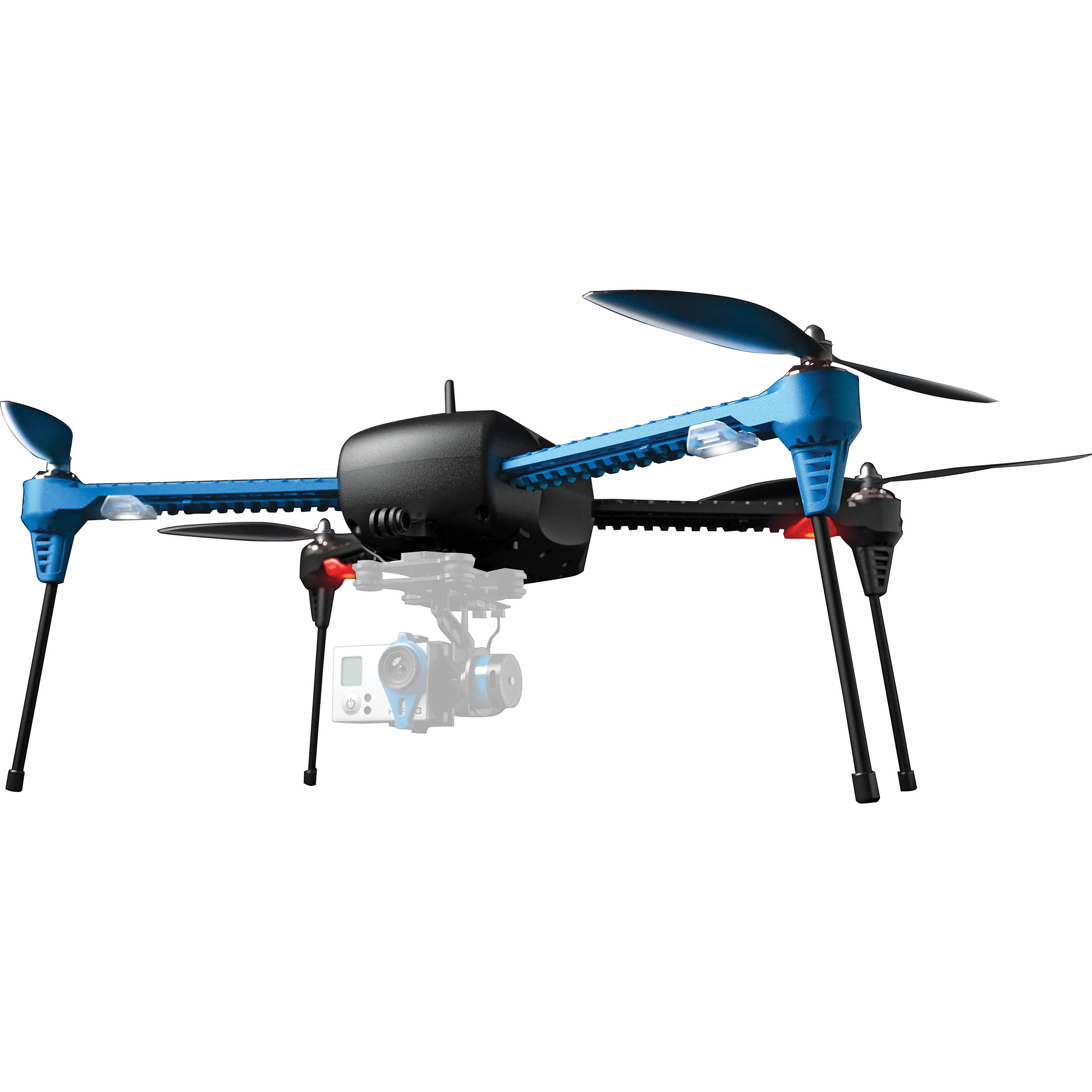 3dr Iris Quadcopter With Gopro Mount 915 Mhz Rtf 3dr0171 Bh Gimbal Wiring Diagram