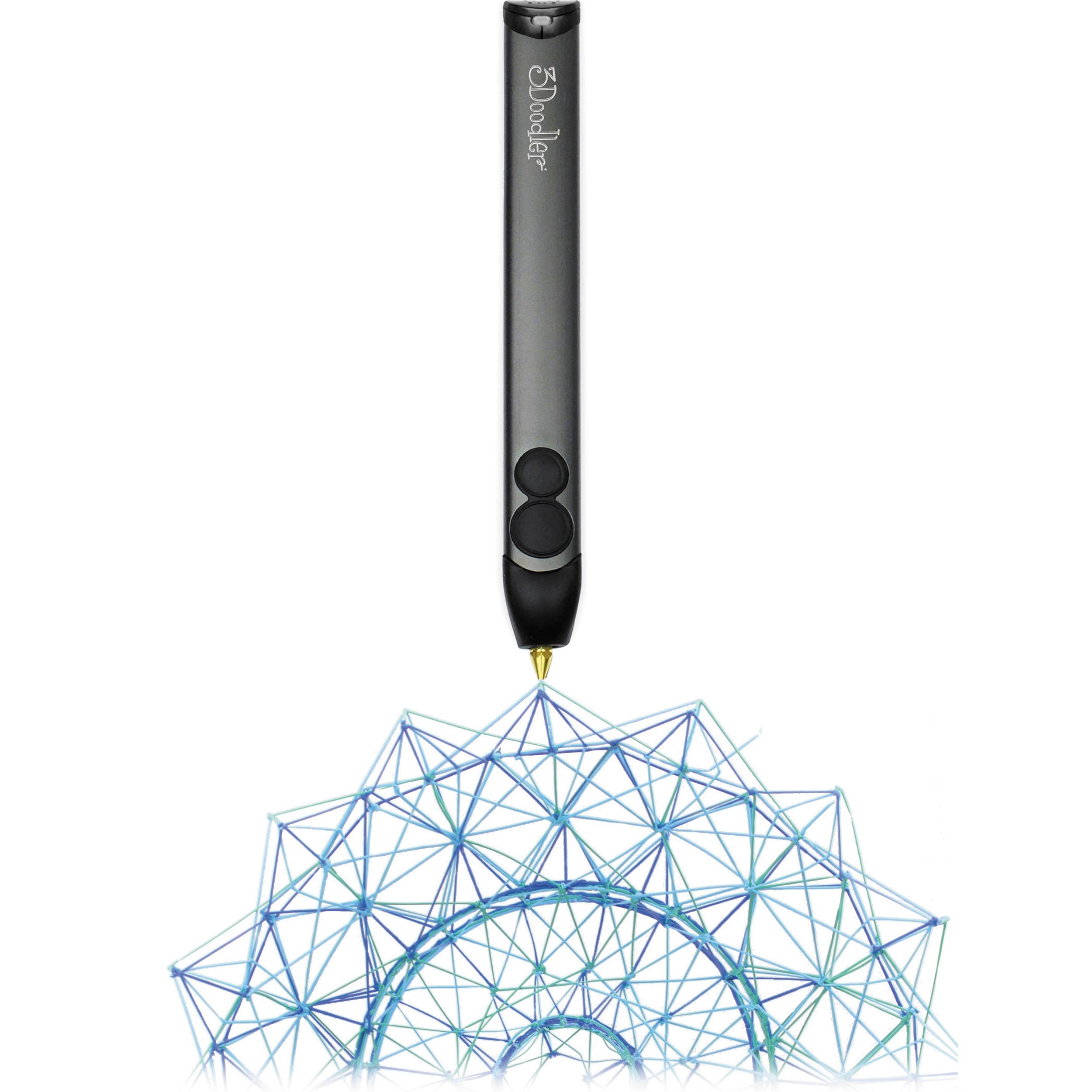 3Doodler 2.0 3D Printing Pen with ABS & PLA 3DOOD-V2-US B&H