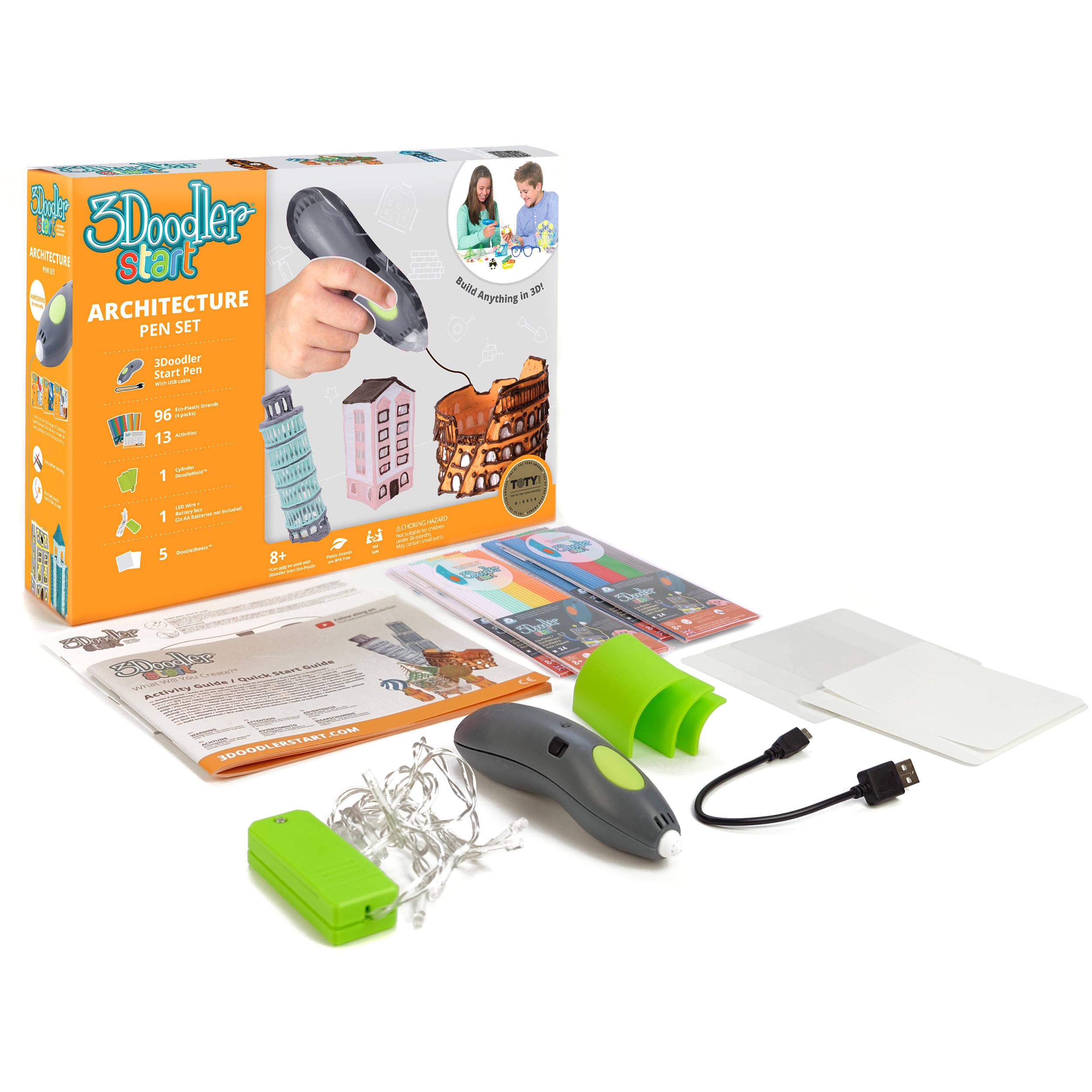 3Doodler Start Architecture Pen Set 3DS-ARCP-E-R B&H Photo Video