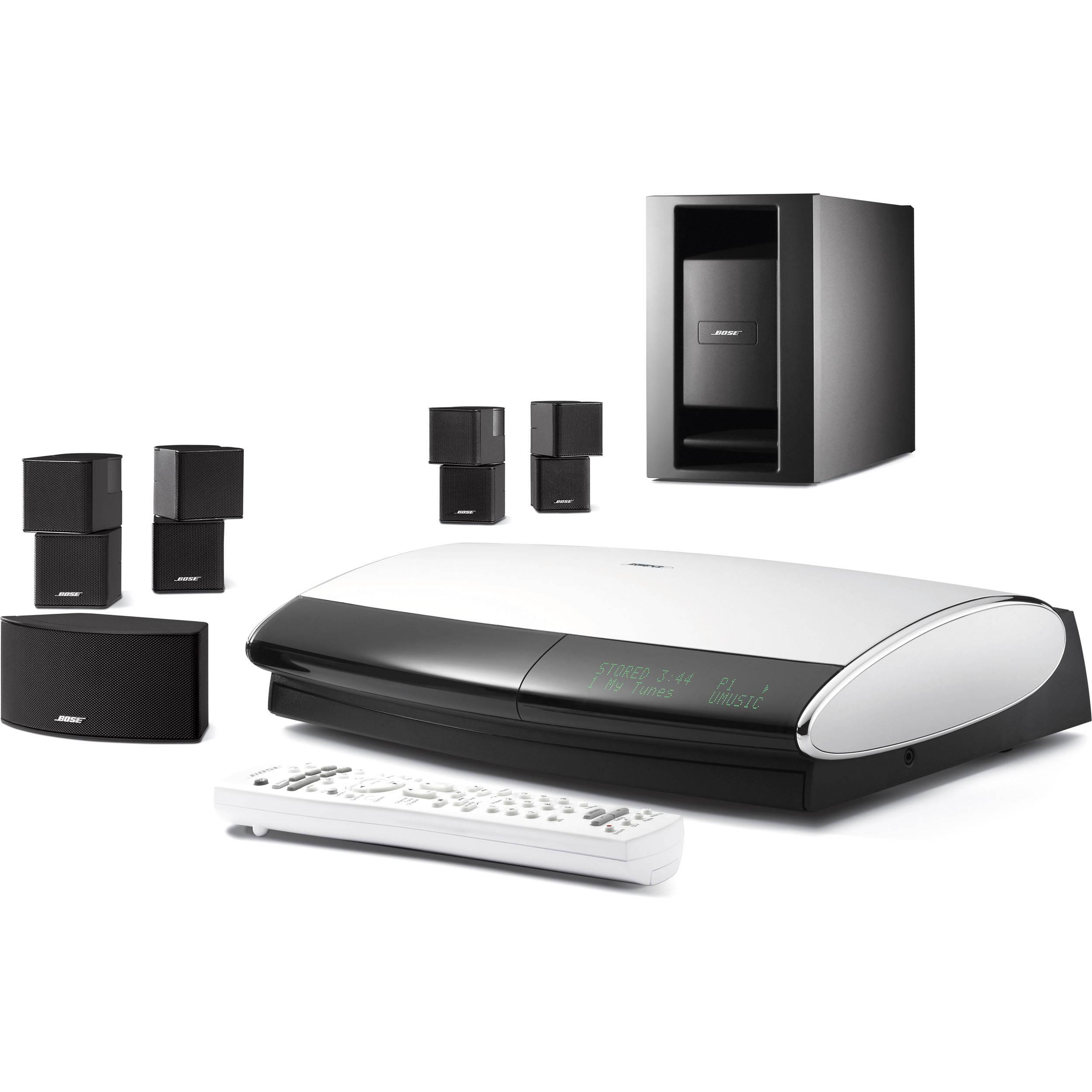 bose lifestyle 48 series iv dvd home entertainment system 43478. Black Bedroom Furniture Sets. Home Design Ideas