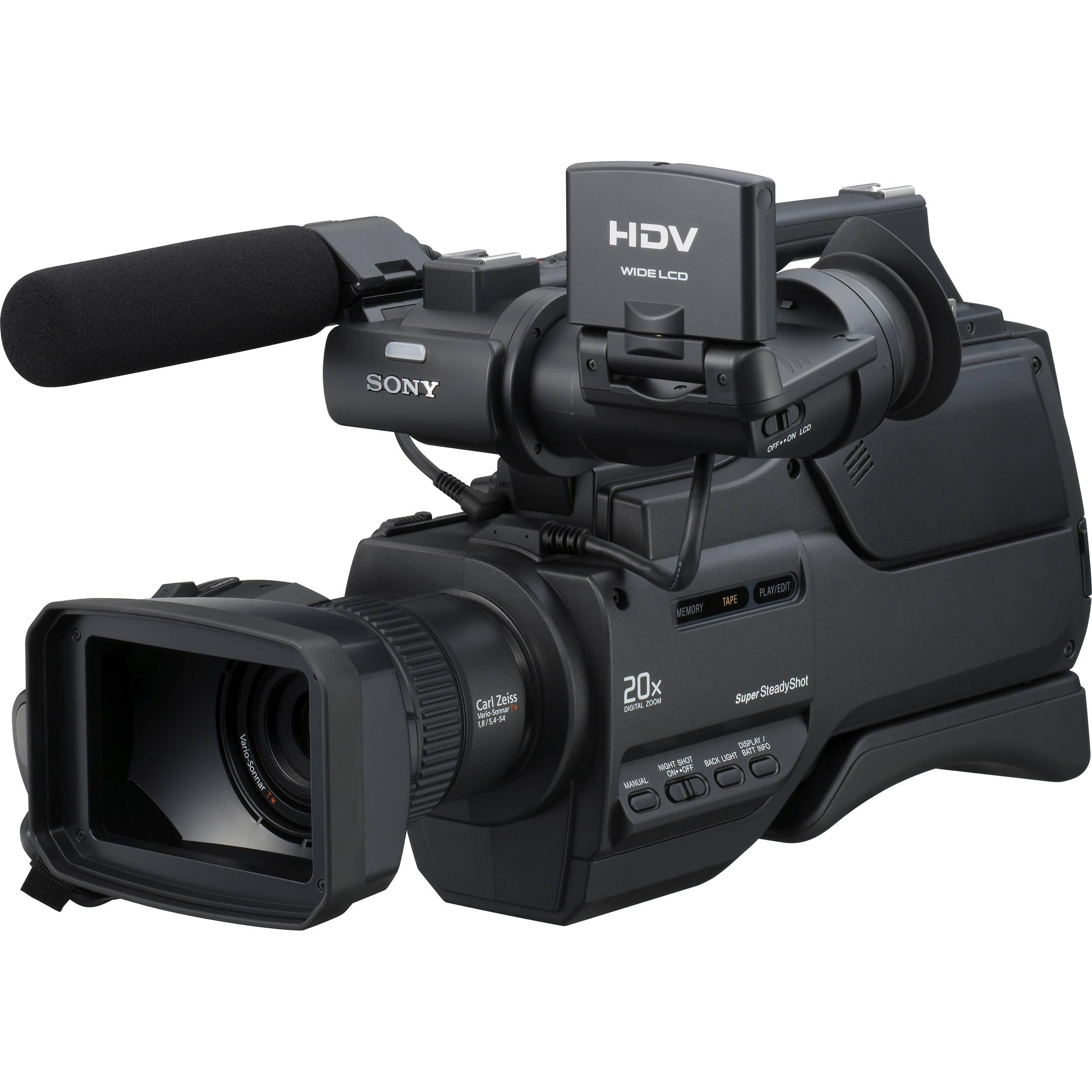 sony hvr hd1000u digital high definition hdv camcorder. Black Bedroom Furniture Sets. Home Design Ideas