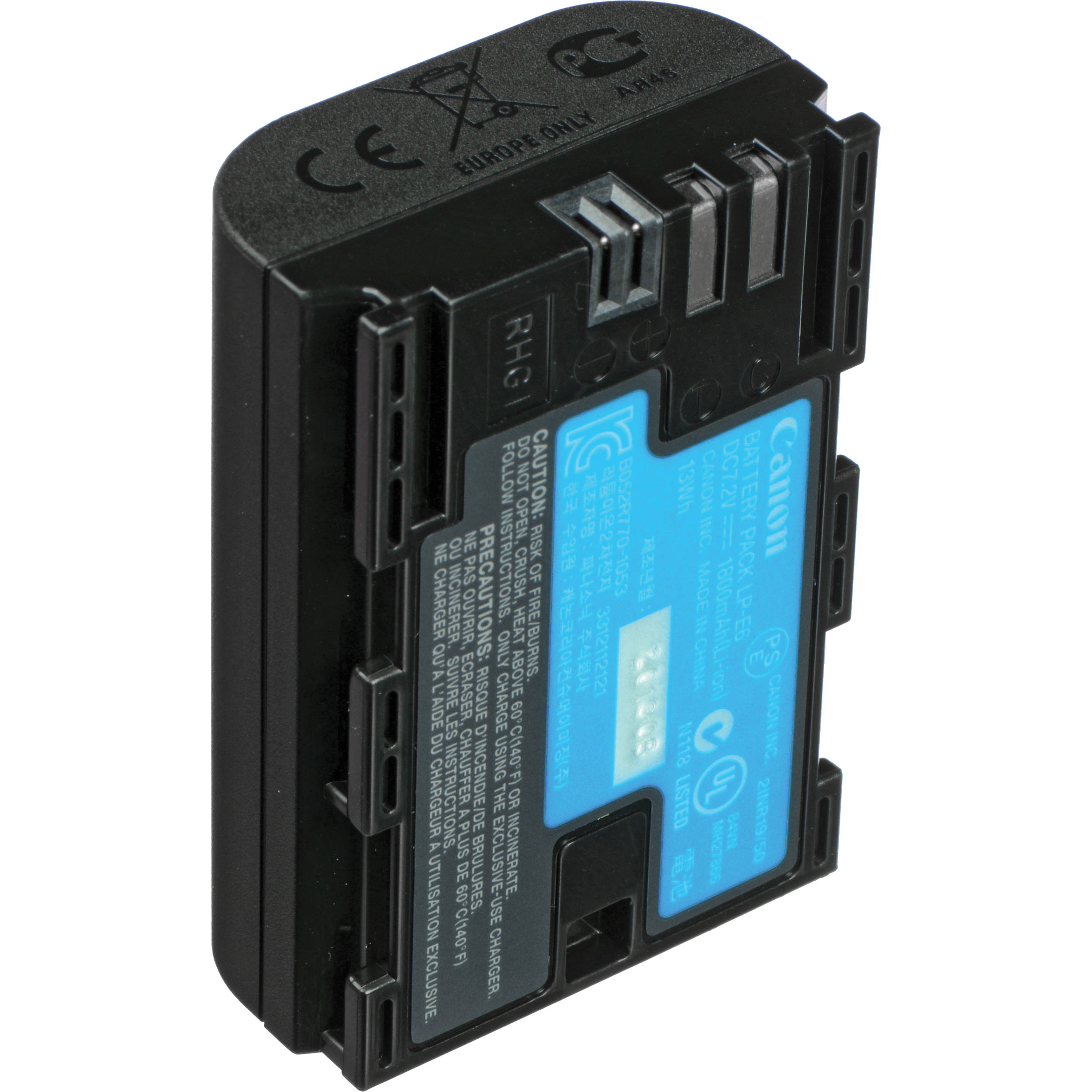 Lithium Ion Battery Pack Canon LP-E6 Rec...