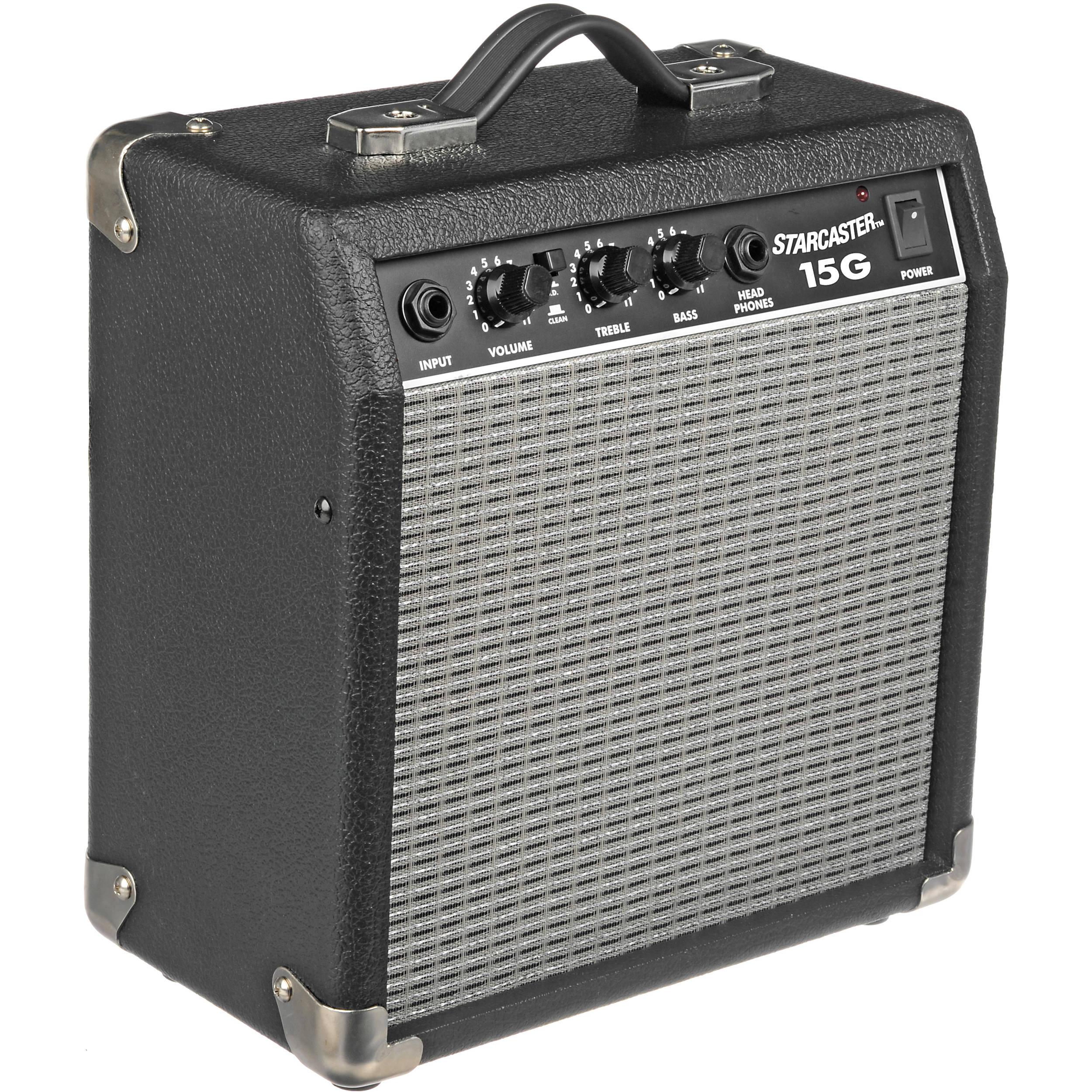 fender starcaster 15g guitar amplifier 15g b h photo video. Black Bedroom Furniture Sets. Home Design Ideas