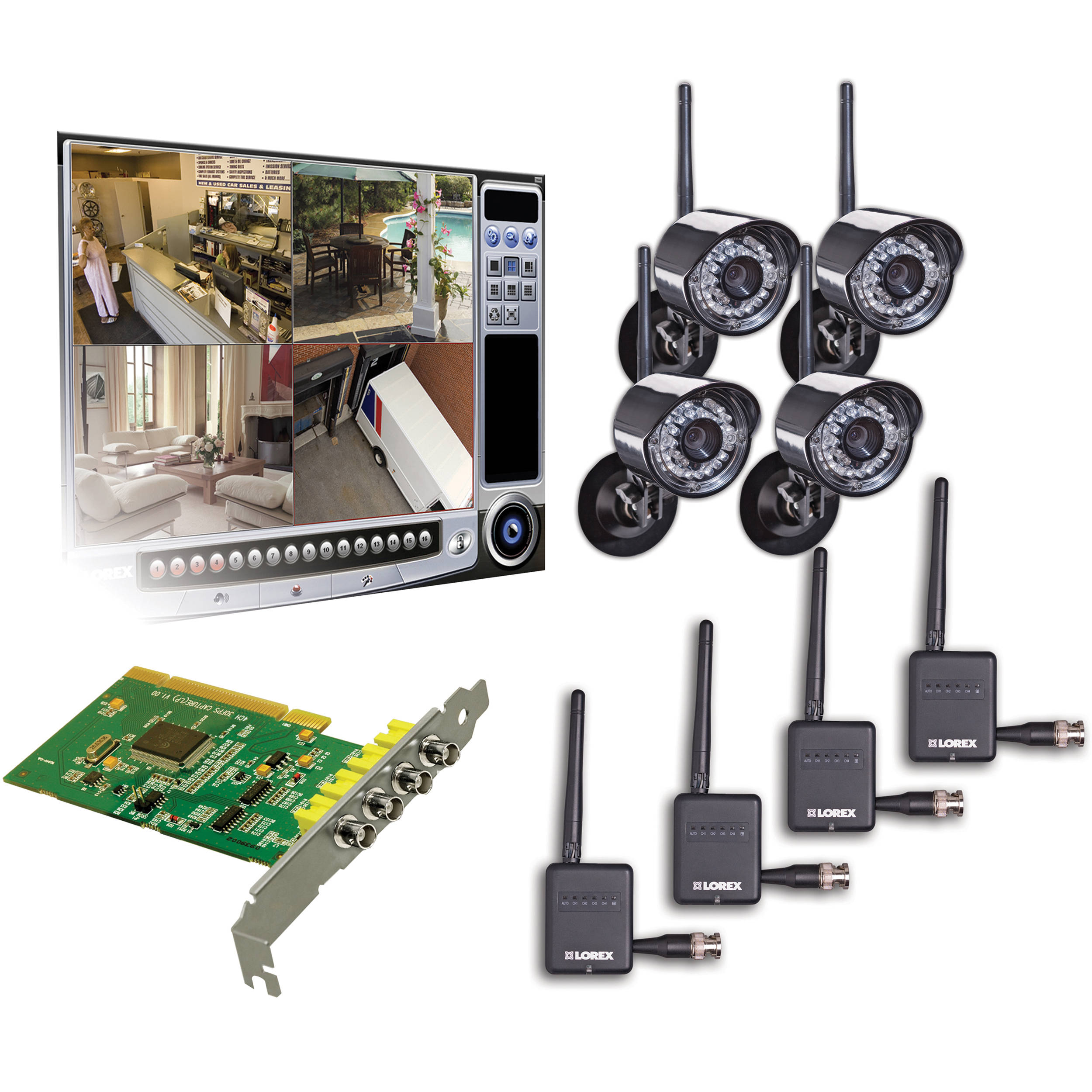 You'll find high quality on the best surveillance system to help you keep a watchful eye on your property and possessions, for home, for business. This website help you alway secure and security with top rated security camera systems on the market.