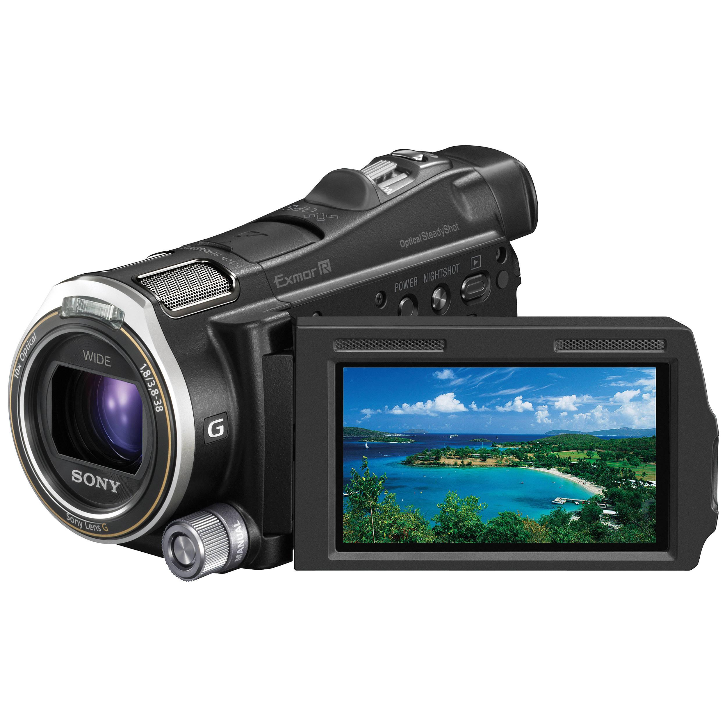 Sony Hdr Cx700v Camcorder Hdr Cx700v B Amp H Photo Video