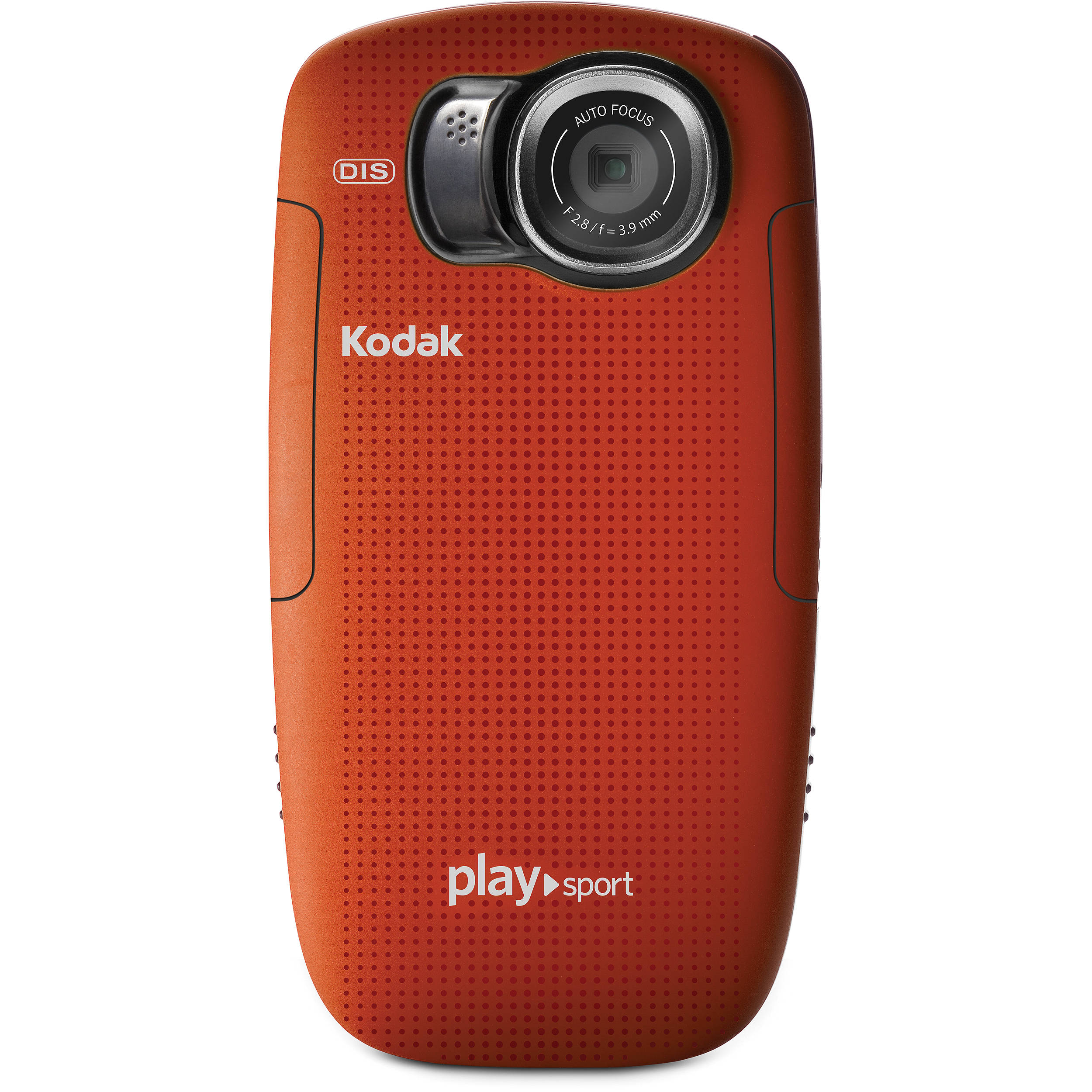 Kodak PLAYSPORT Zx5 Video Camera (Red) 8357428 B&H Photo Video