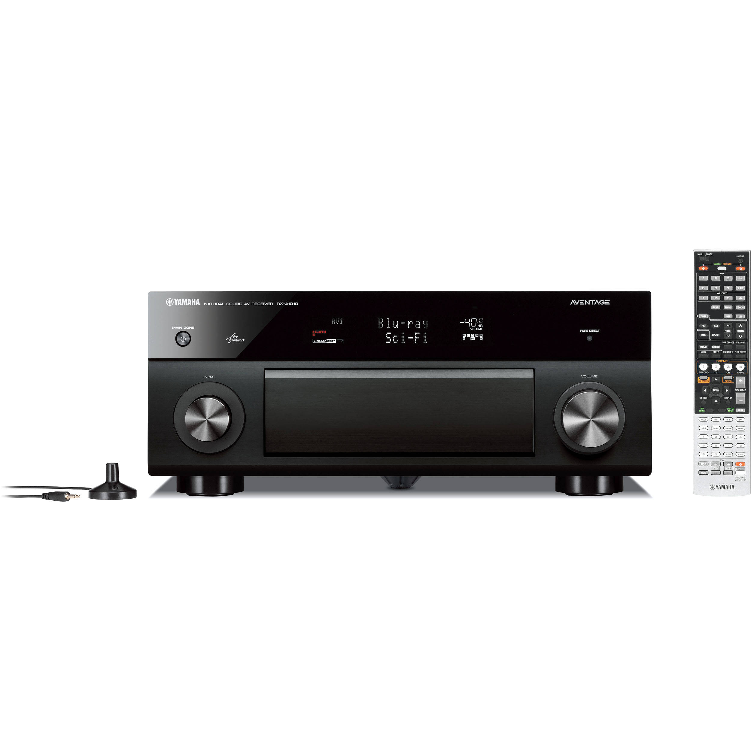 Yamaha rx a1010 7 2 channel a v receiver black rx for Yamaha 7 2 receiver reviews
