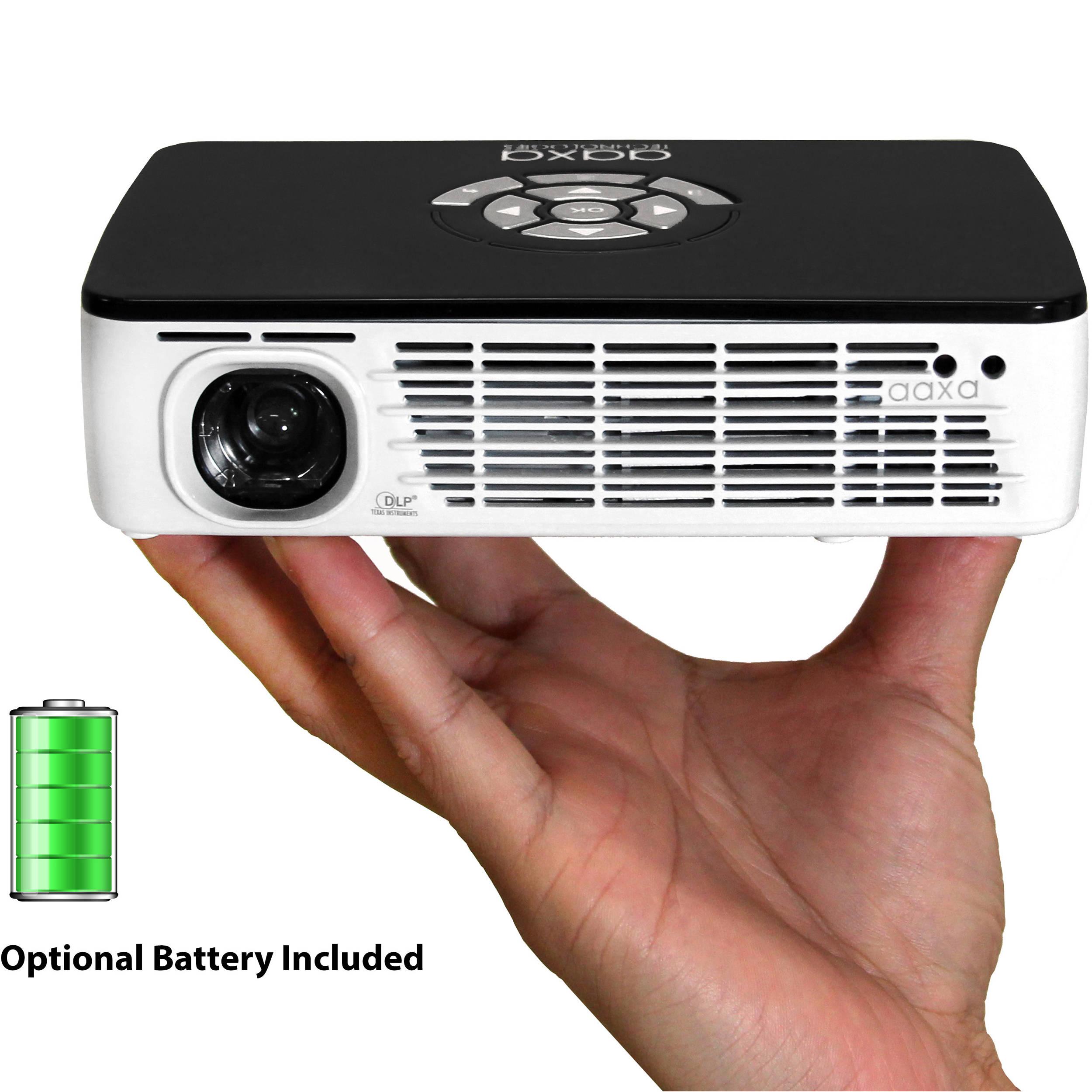 Aaxa technologies p300 400 lumen hd pico projector kp 600 for Hd pico projector