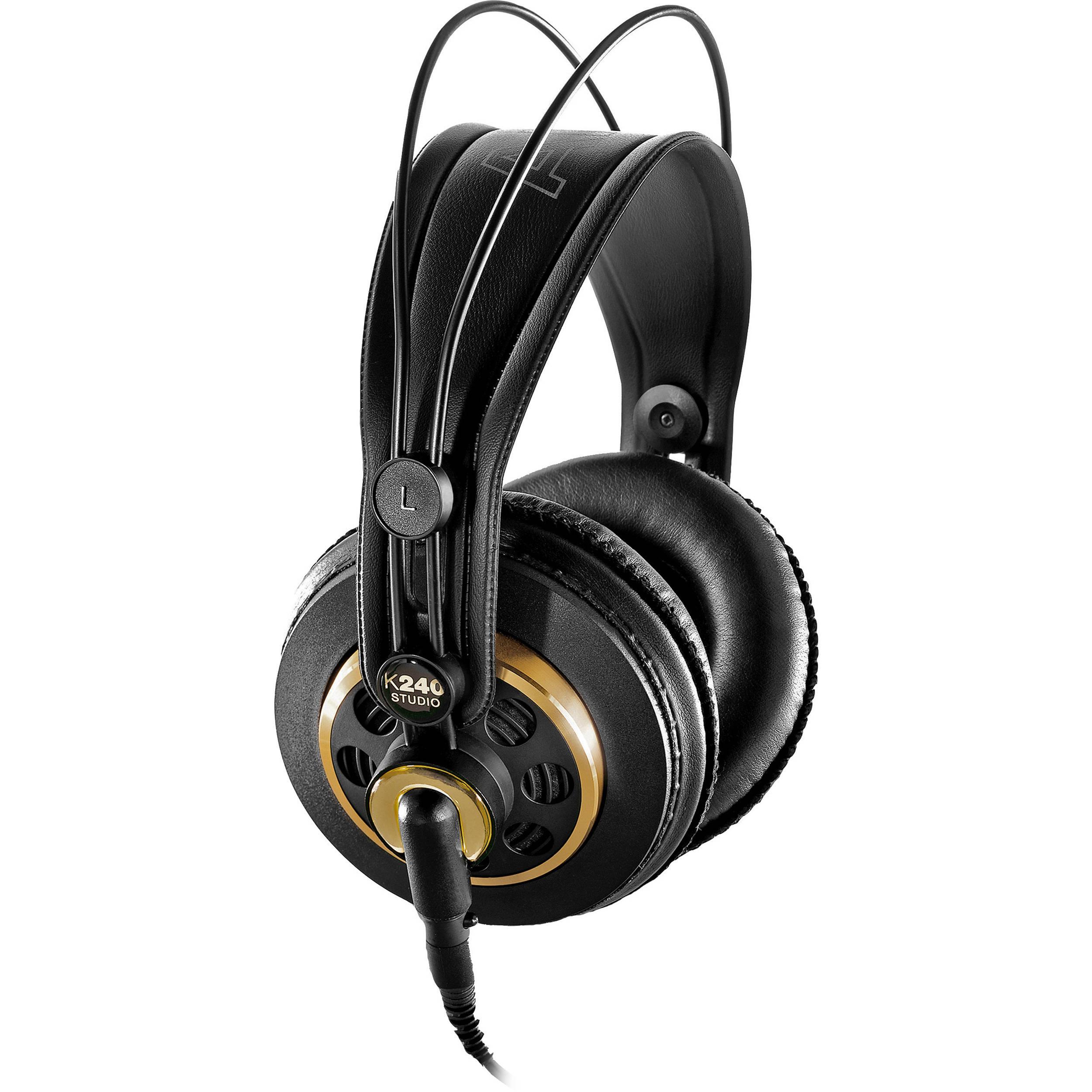 407006440e6 AKG K 240 Studio Professional Semi-Open Stereo 2058X00130 B&H