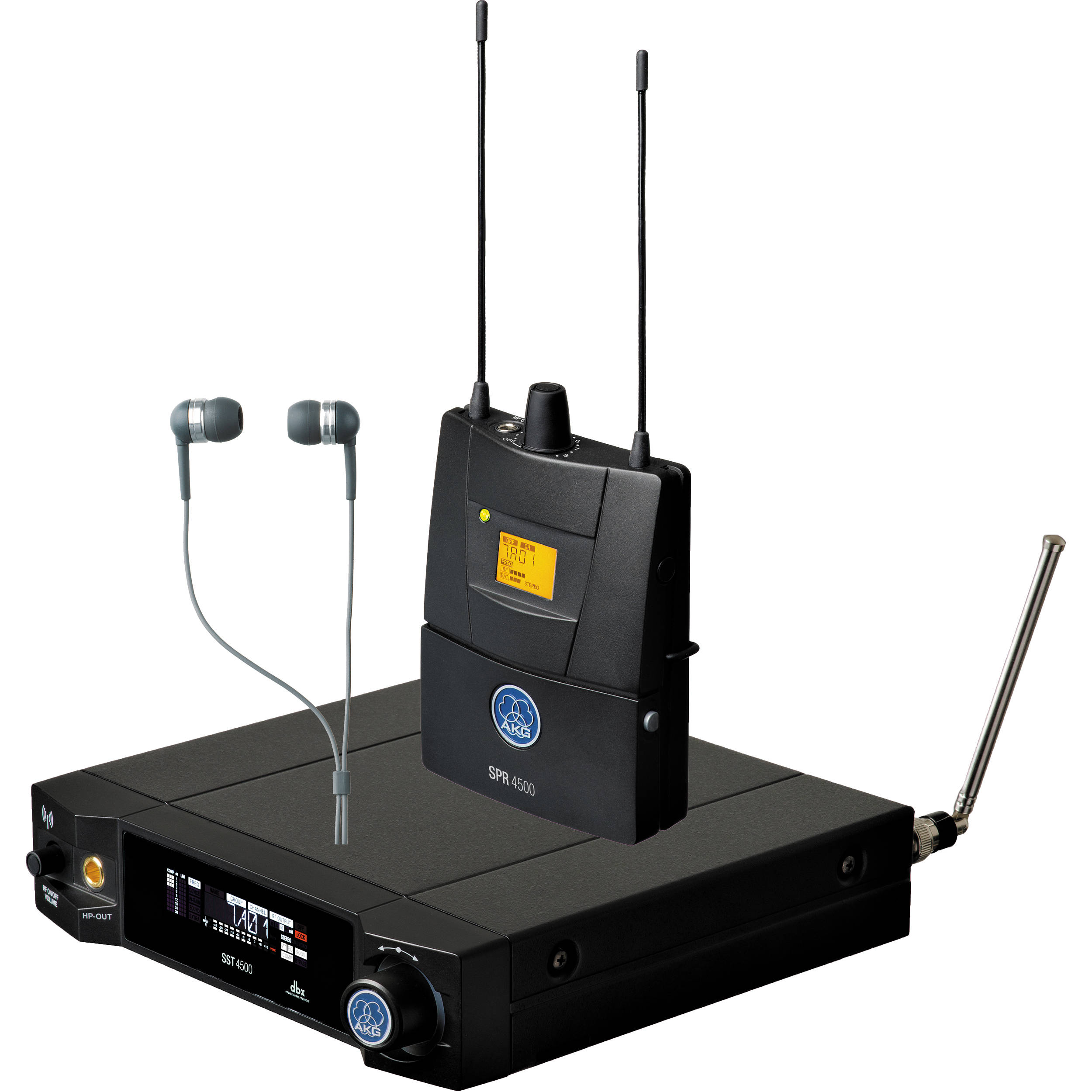 akg ivm4500 in ear monitoring system bd1 50mw 3097h00010 b h. Black Bedroom Furniture Sets. Home Design Ideas