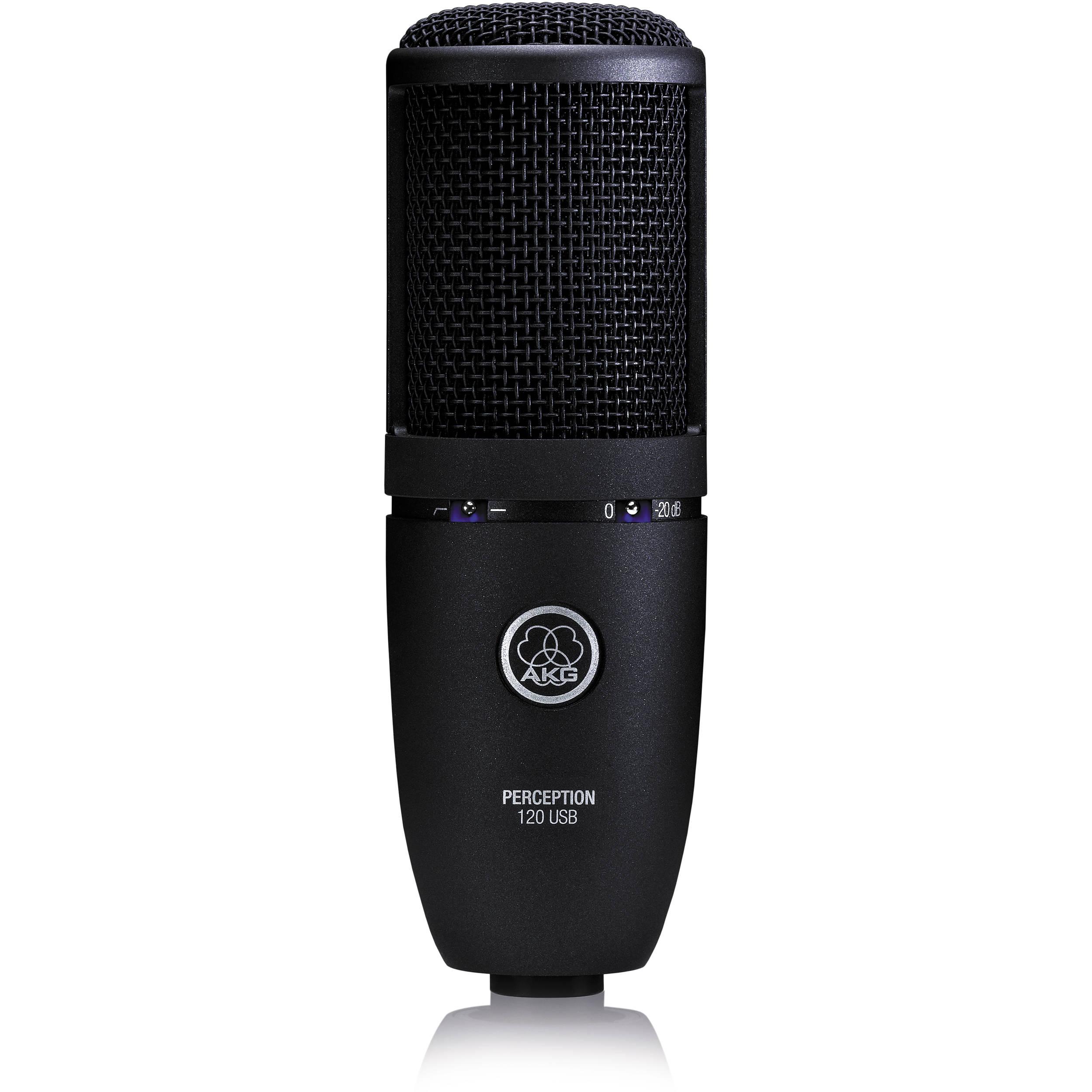 akg perception 120 usb condenser microphone 3101 h 00060 b h. Black Bedroom Furniture Sets. Home Design Ideas