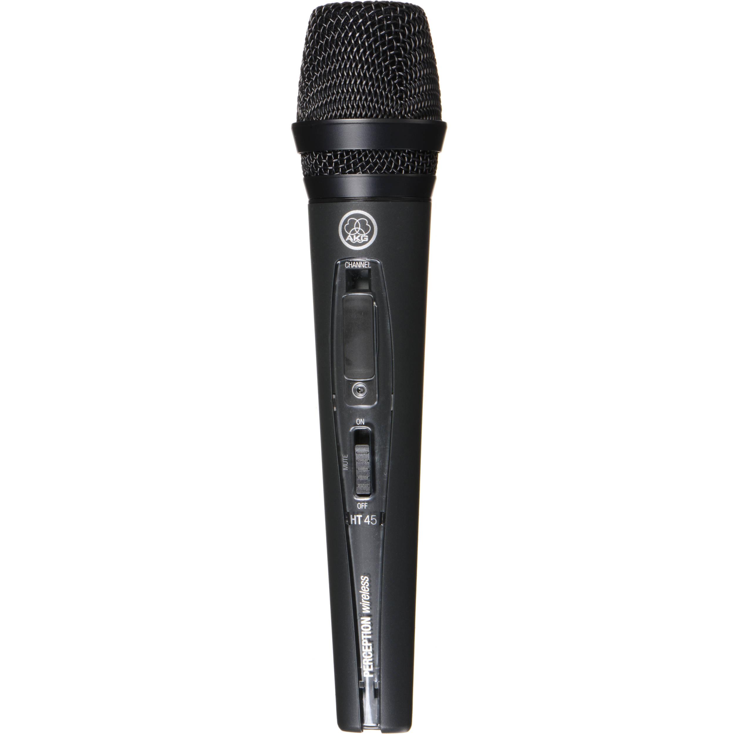 akg perception ht 45 handheld wireless microphone 3246h00010 b h. Black Bedroom Furniture Sets. Home Design Ideas