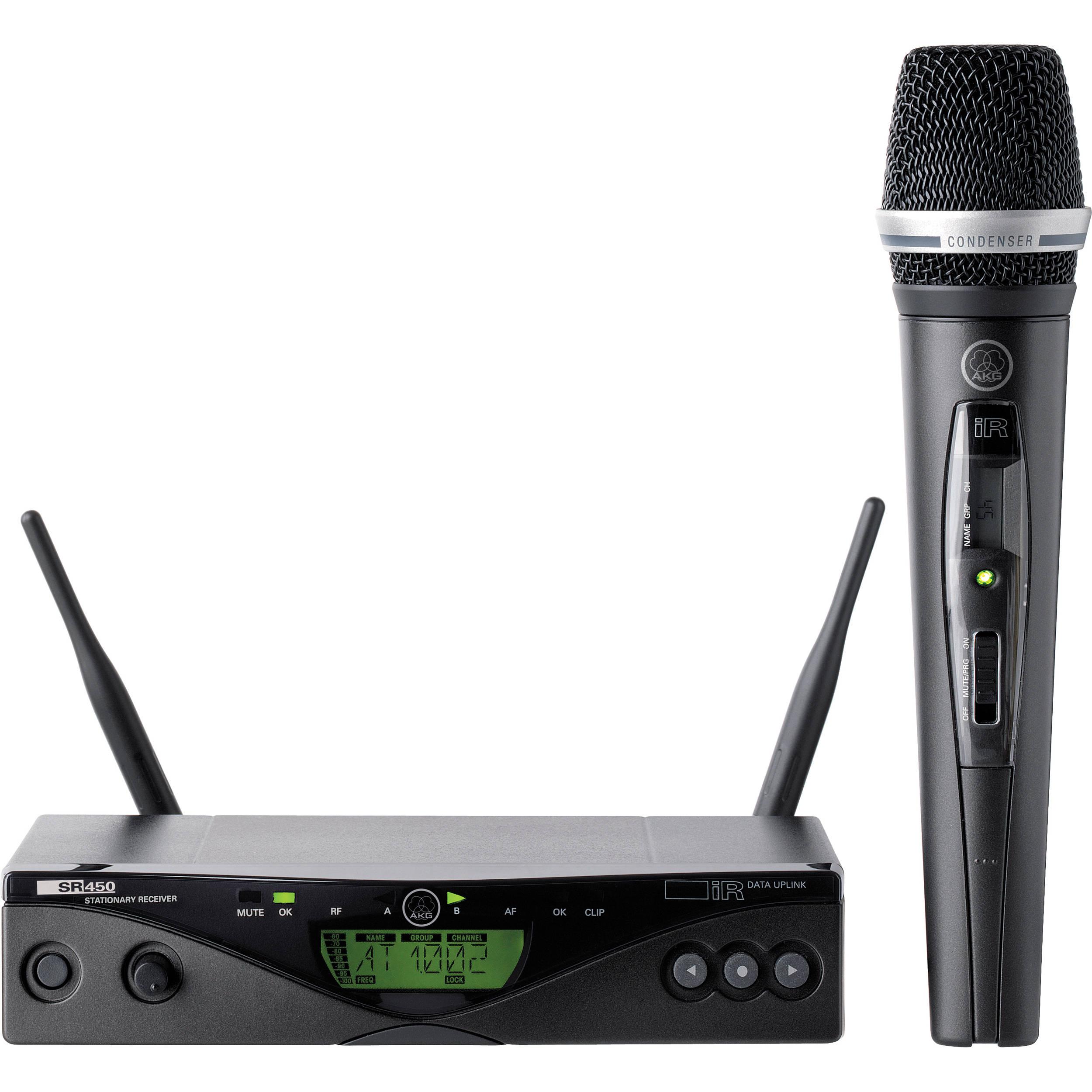 akg wms 470 vocal set wireless microphone system 3306x00210 b h. Black Bedroom Furniture Sets. Home Design Ideas