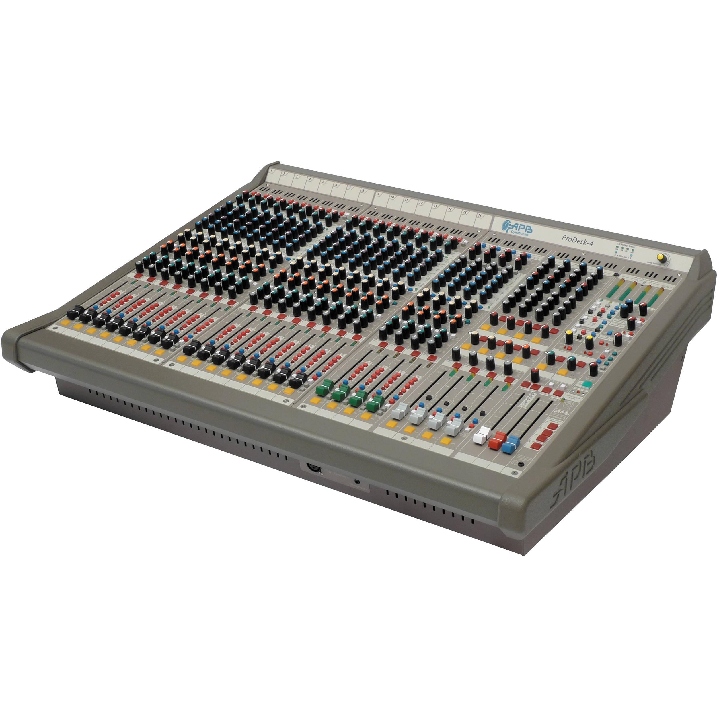 Apb Dynasonics Prodesk 4 16 Input Foh Mixing Console