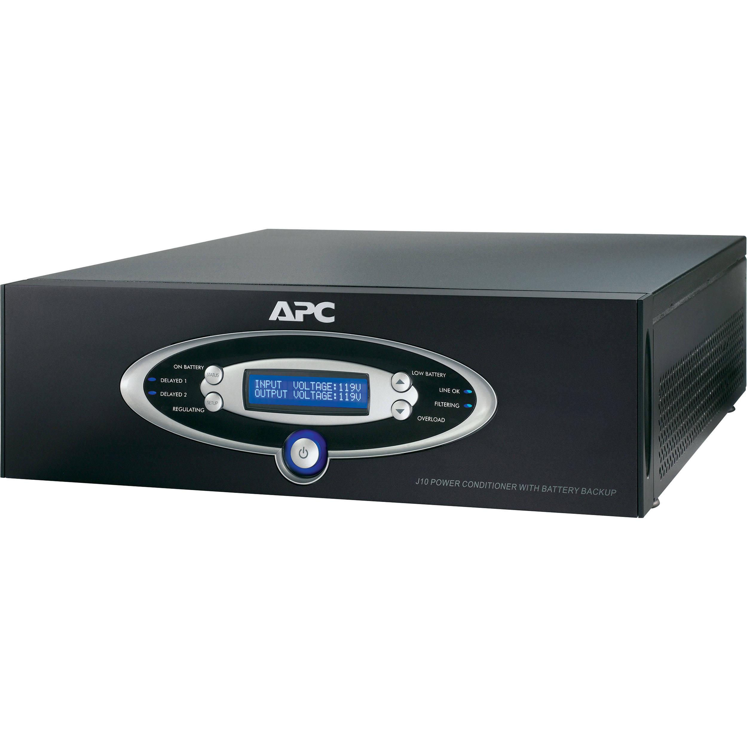Apc J15 Home Theater Conditioner Battery Backup Black