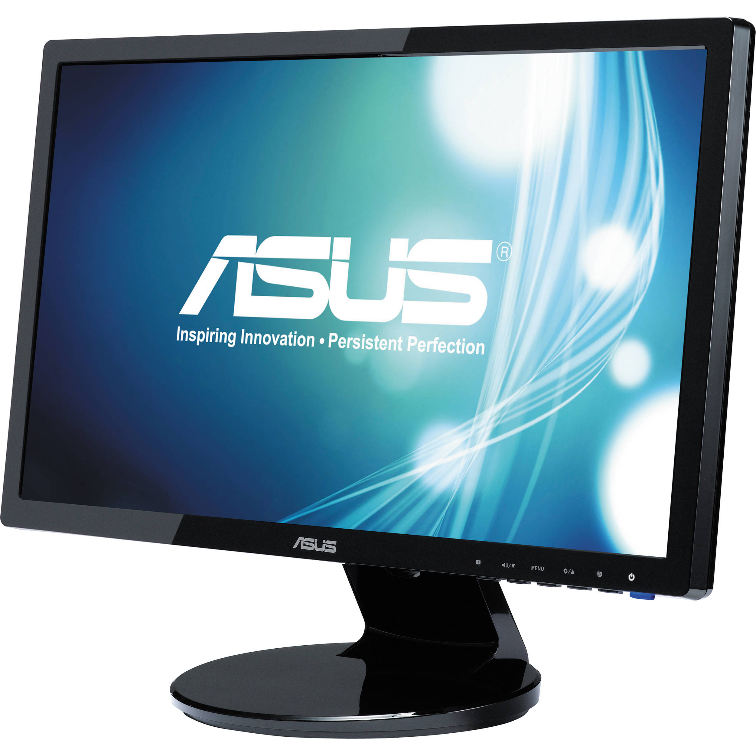 asus ve198t 19 led backlit widescreen computer ve198t b h. Black Bedroom Furniture Sets. Home Design Ideas