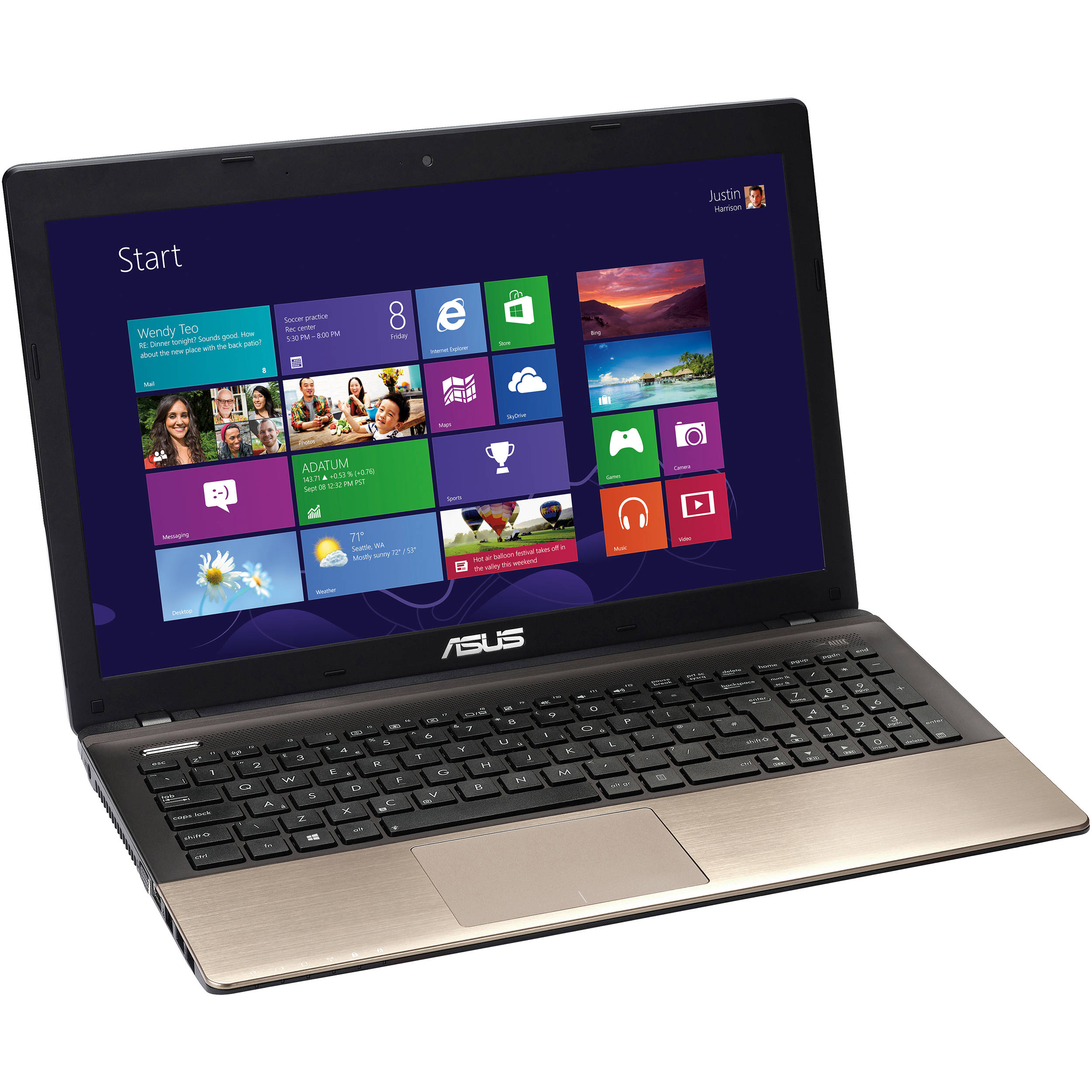 asus k55a dh51 15 6 notebook computer mocha k55a dh51 rh bhphotovideo com Asus Laptop Red Asus Laptop Red