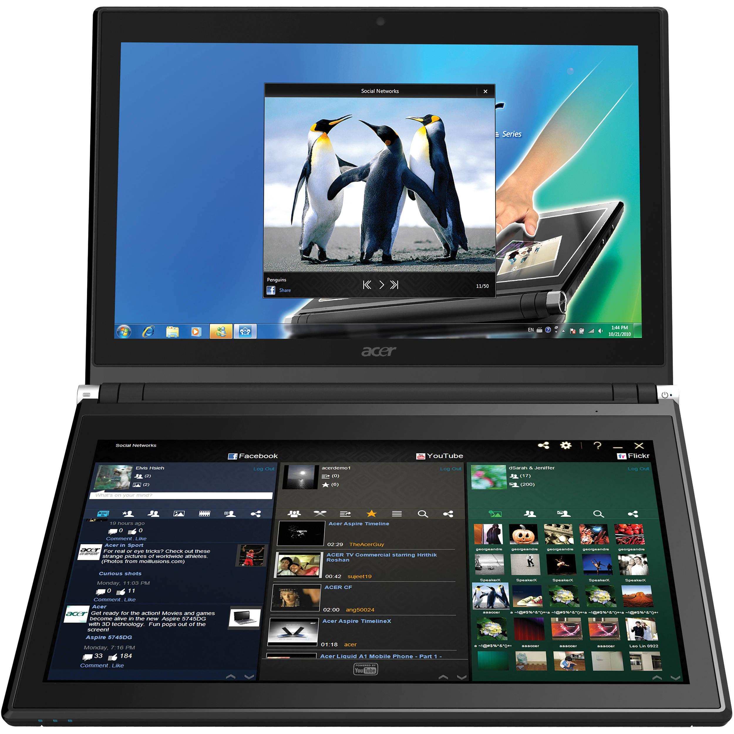 Acer Iconia: Dual-Display Laptop